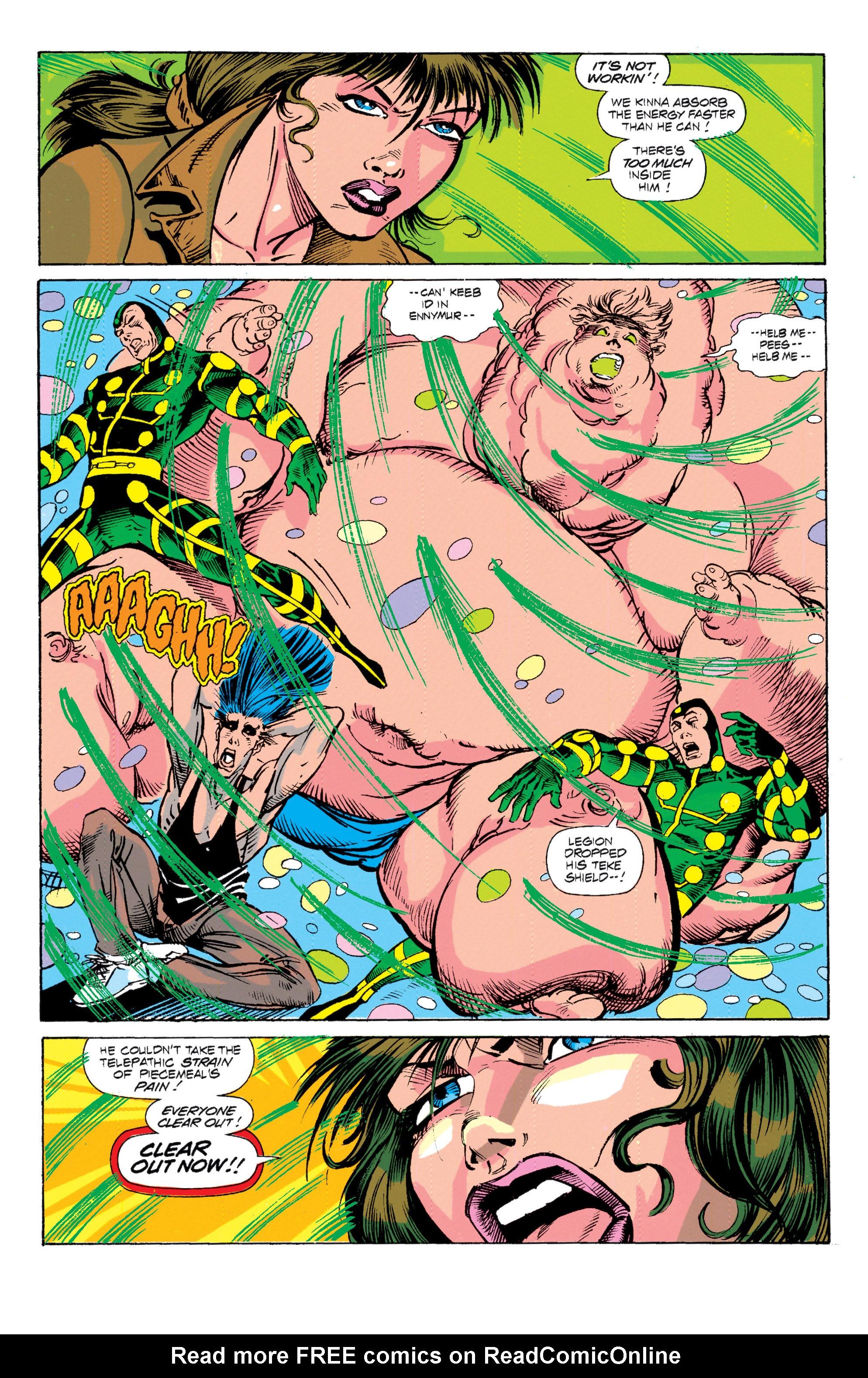 Read online Uncanny X-Men (1963) comic -  Issue # _Annual 15 - 31