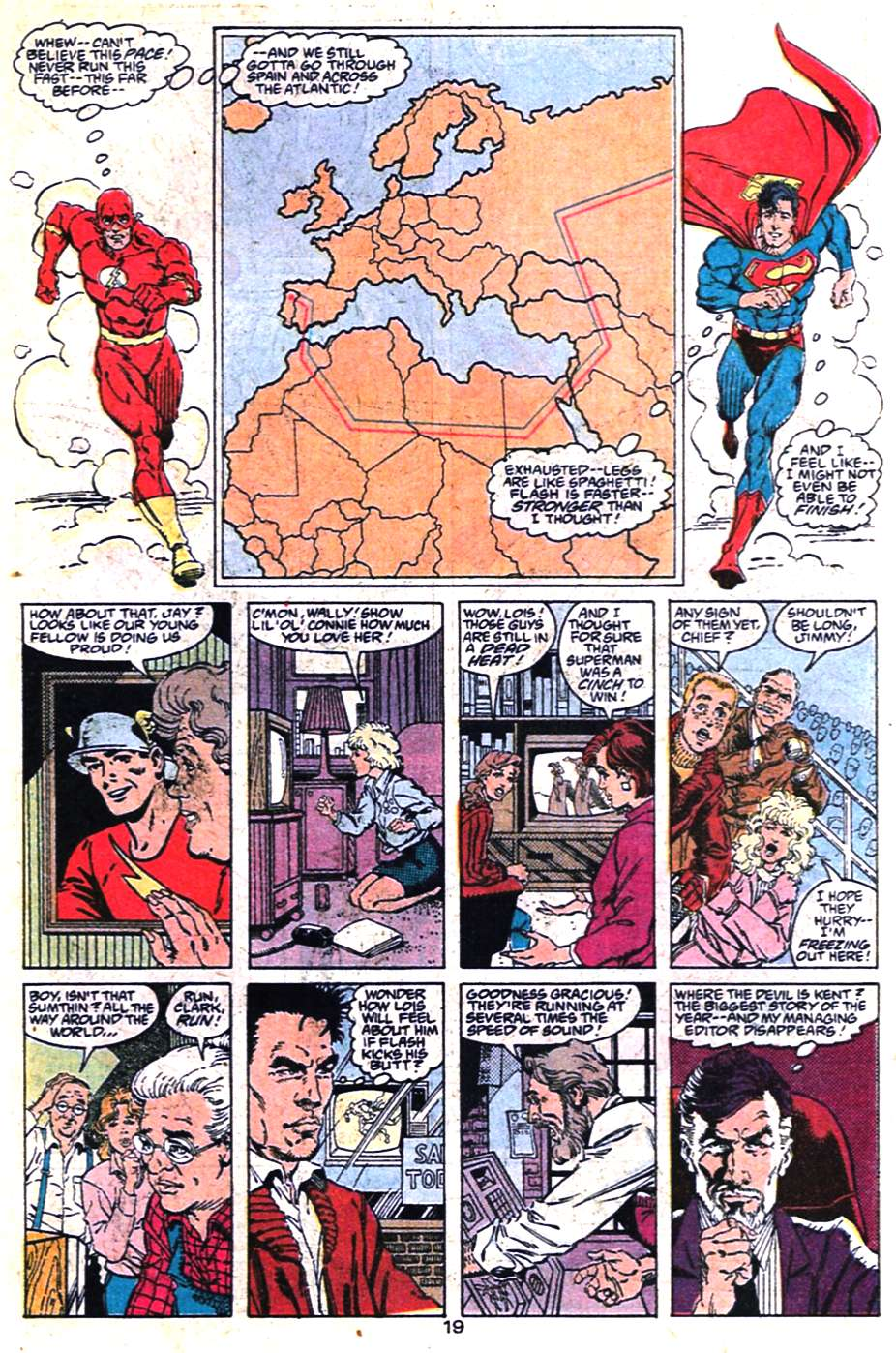Read online Adventures of Superman (1987) comic -  Issue #463 - 19