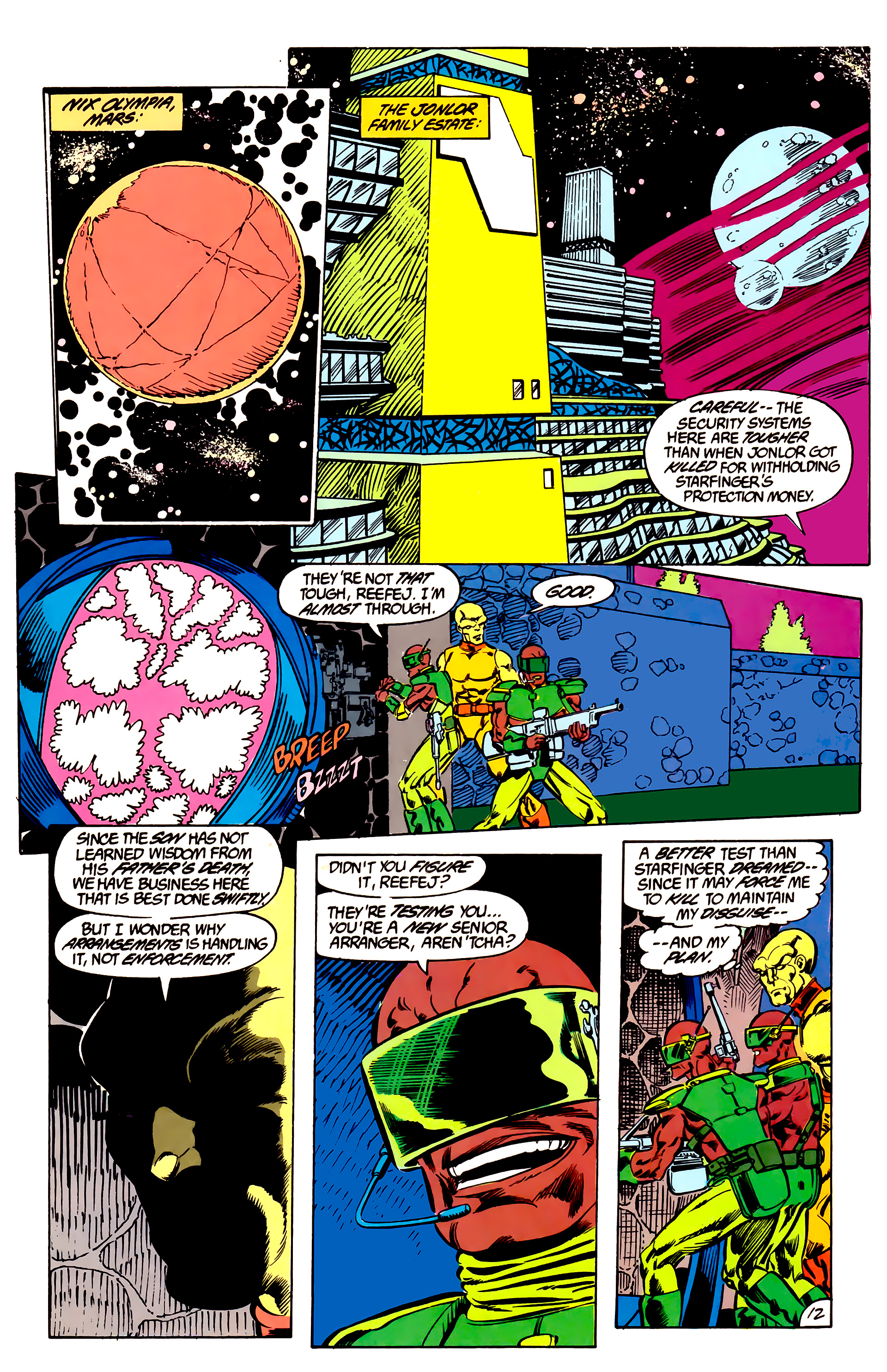 Legion of Super-Heroes (1984) 47 Page 12