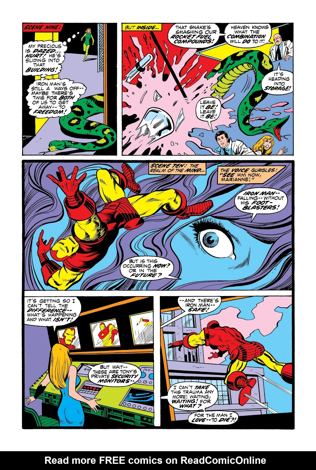 Read online Marvel Masterworks: The Invincible Iron Man comic -  Issue # TPB 8 (Part 3) - 46