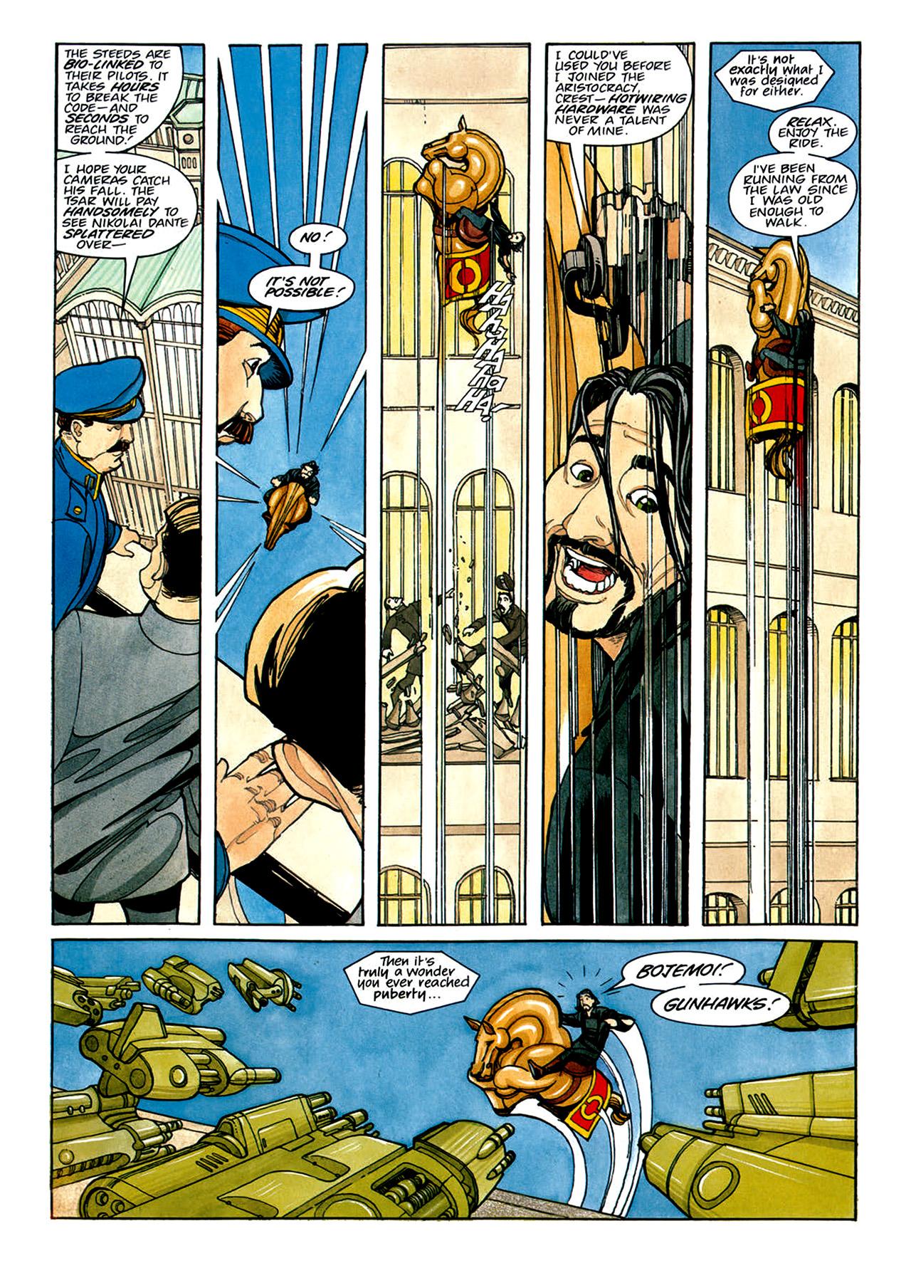 Read online Nikolai Dante comic -  Issue # TPB 1 - 116