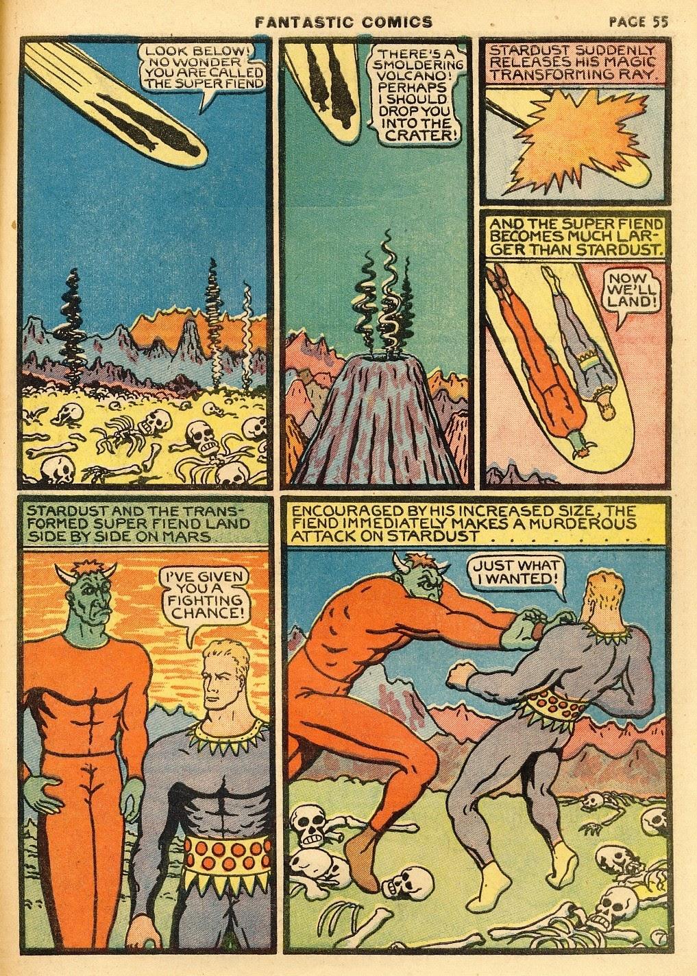 Read online Fantastic Comics comic -  Issue #10 - 56