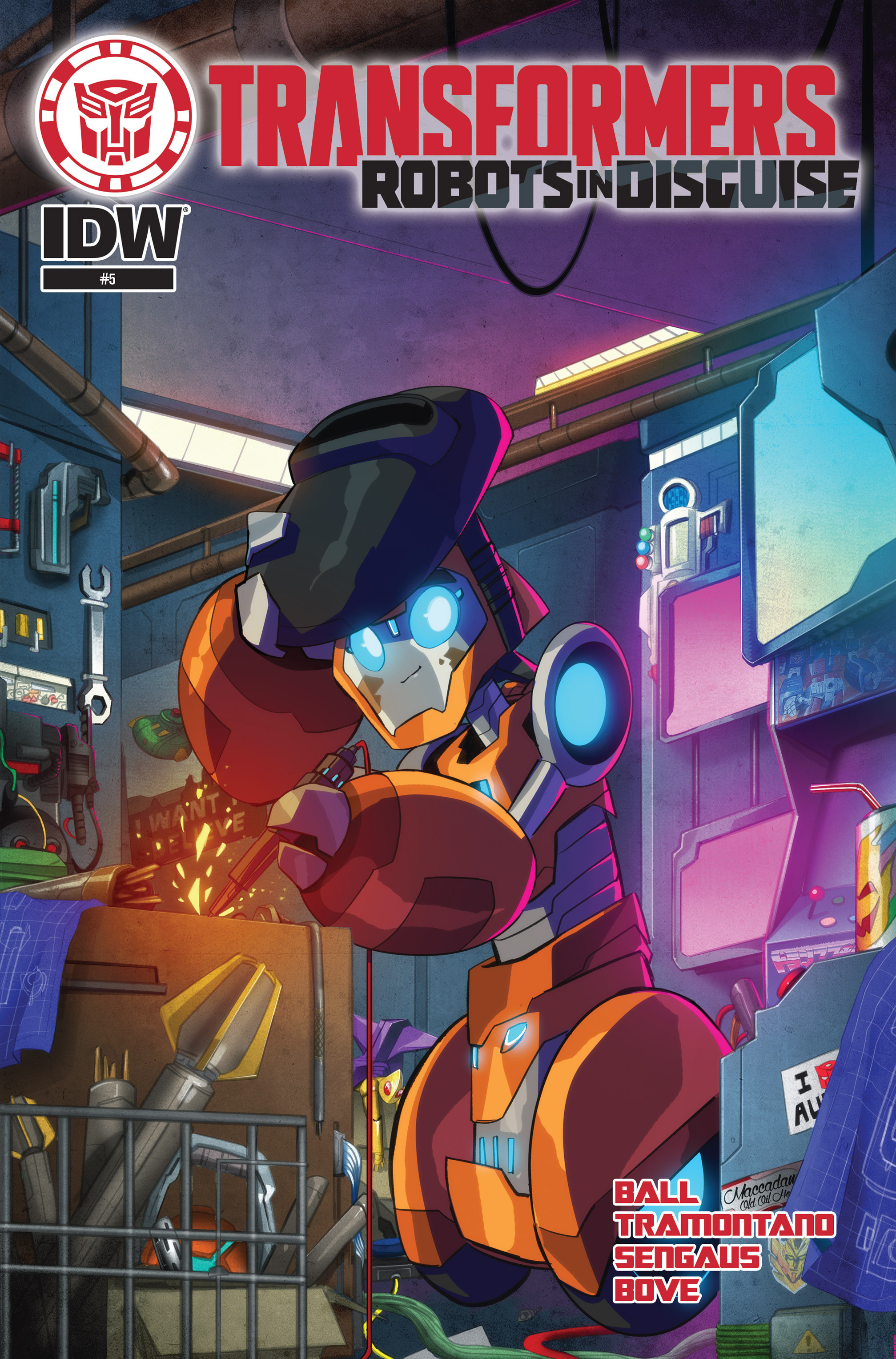Read online Transformers: Robots In Disguise (2015) comic -  Issue #5 - 1