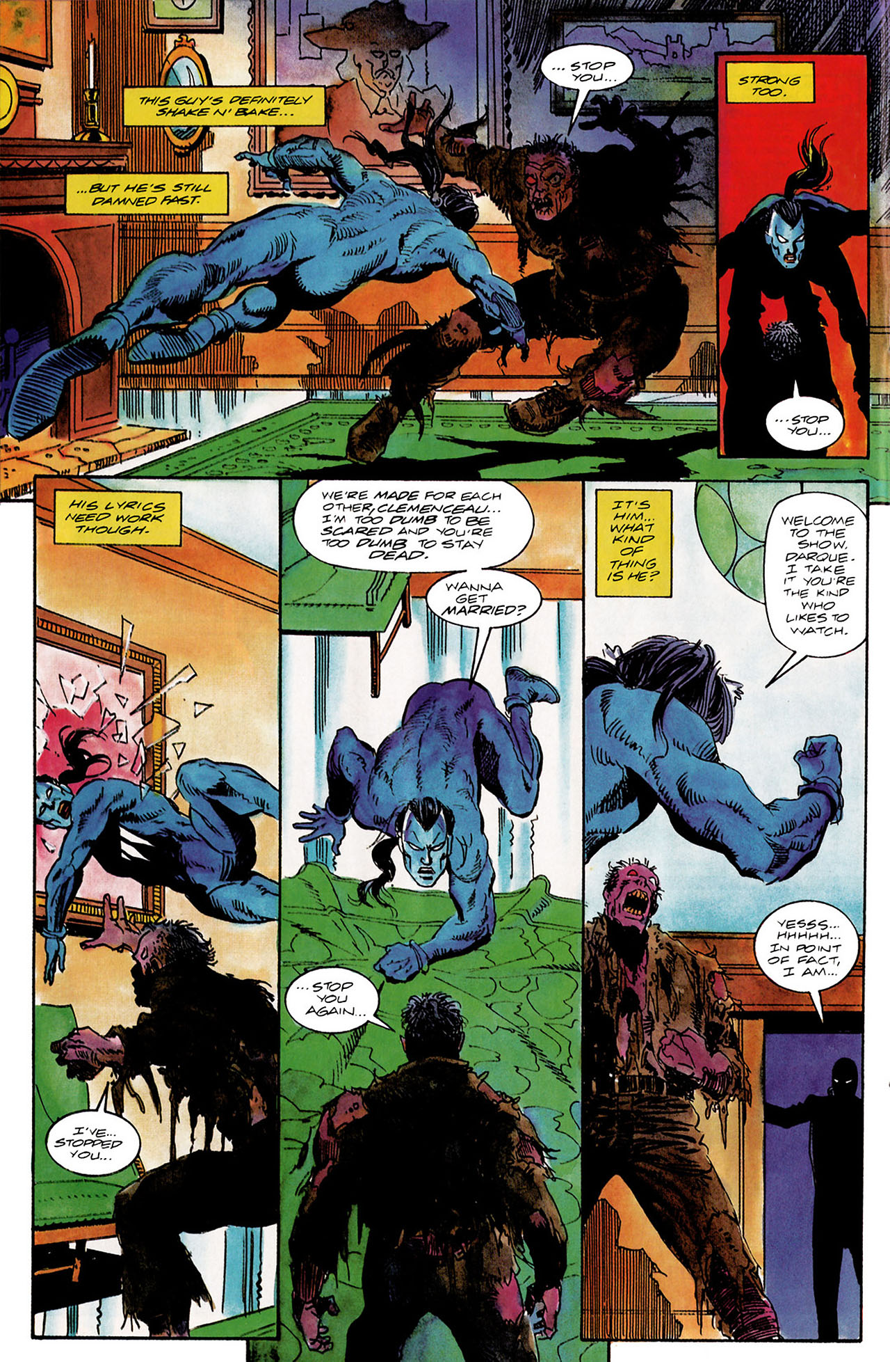 Read online Shadowman (1992) comic -  Issue #10 - 16