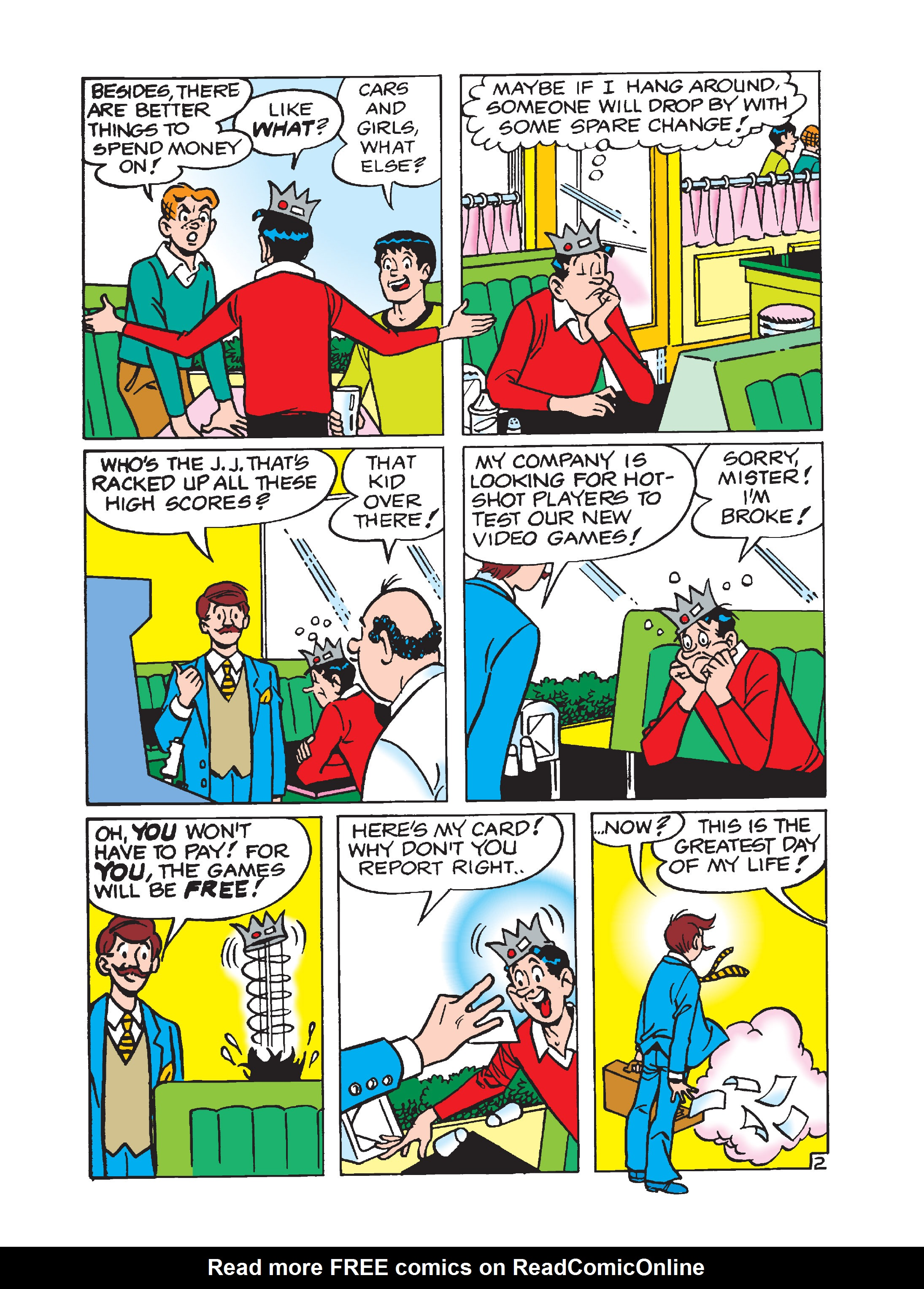 Read online Archie 75th Anniversary Digest comic -  Issue #1 - 65