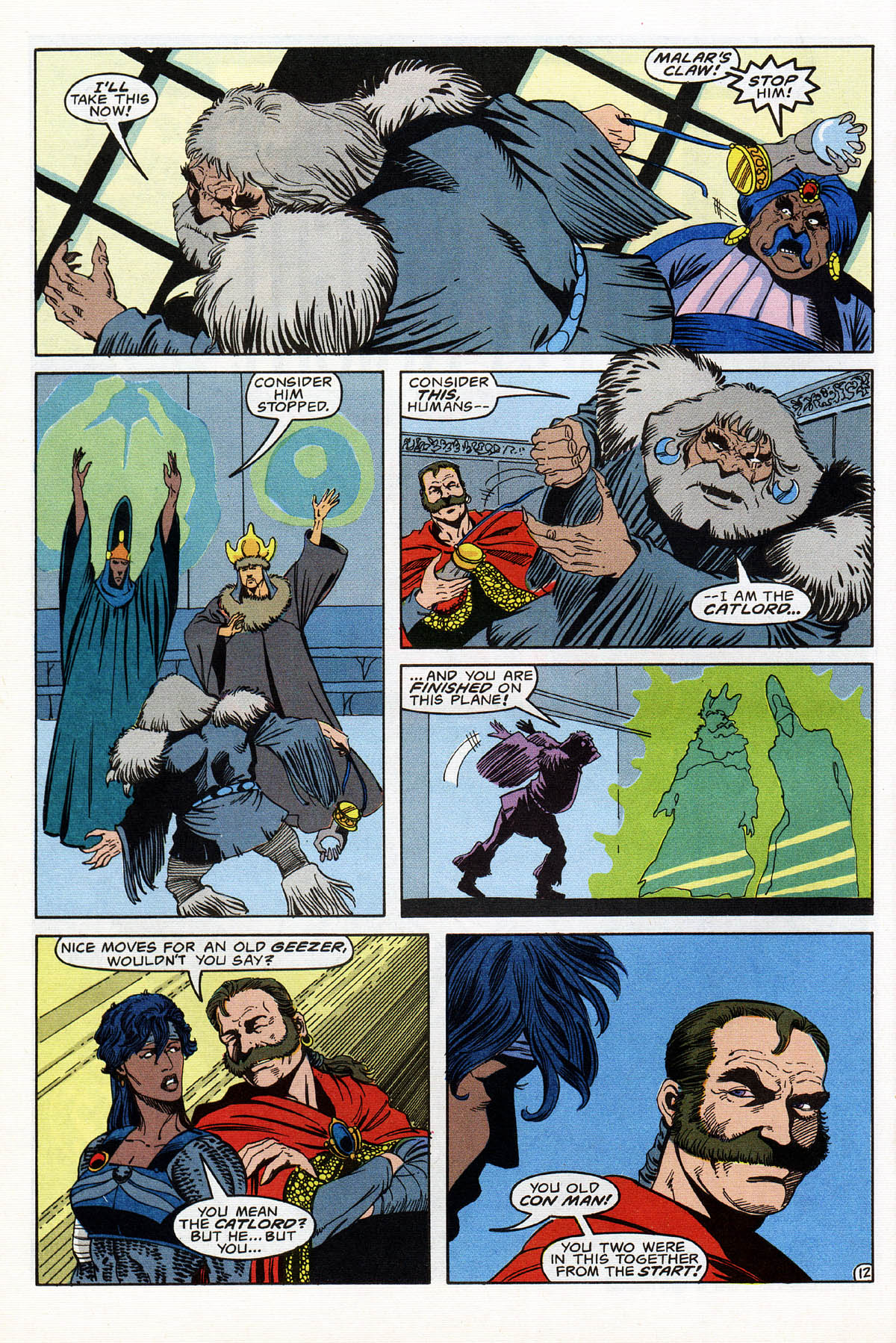 Read online Advanced Dungeons & Dragons comic -  Issue #16 - 15