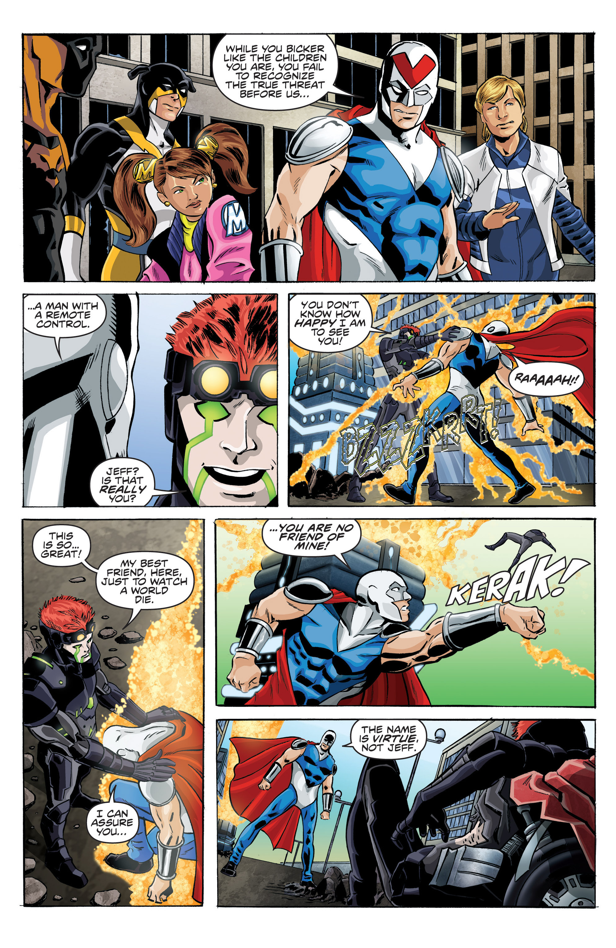Read online Actionverse comic -  Issue #6 - 5