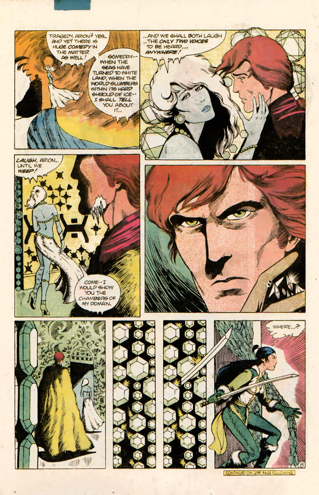 Read online Arion, Lord of Atlantis comic -  Issue #10 - 11
