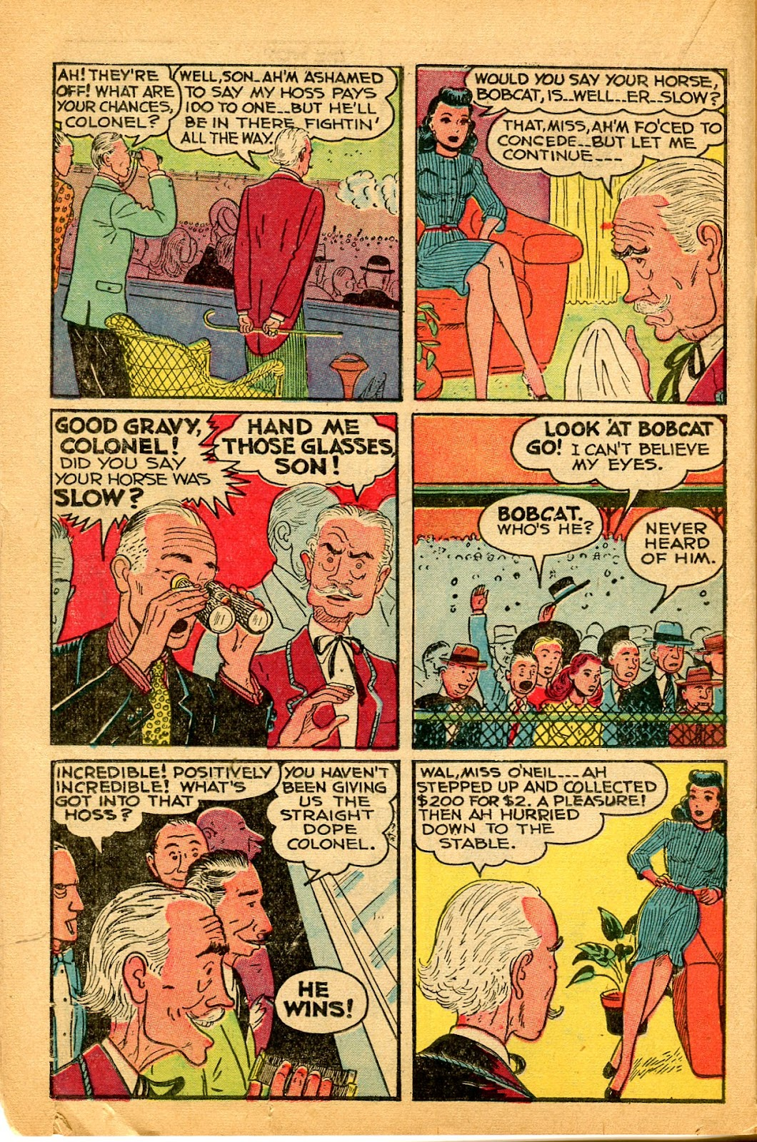 Read online Famous Funnies comic -  Issue #159 - 20