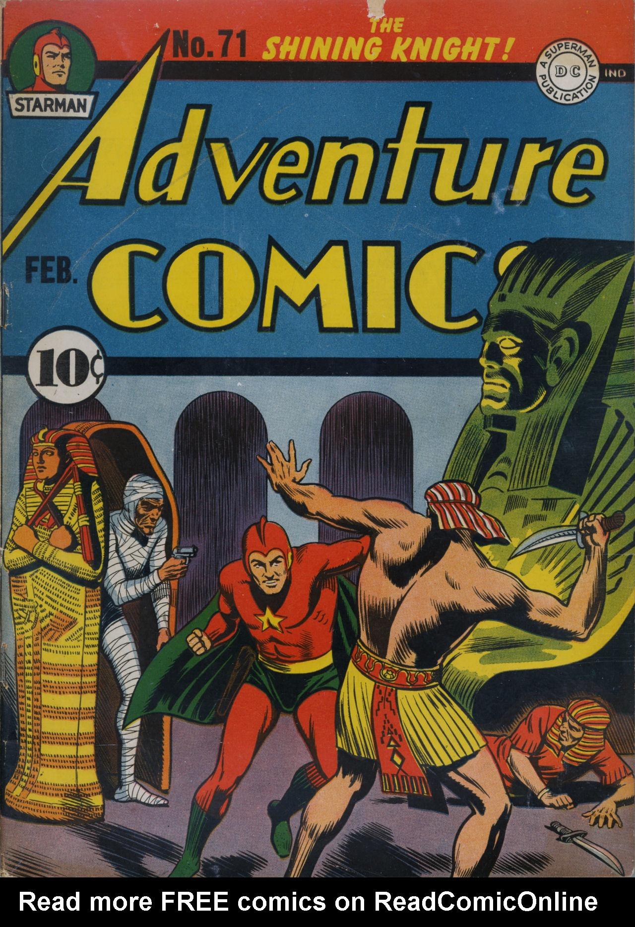 Read online Adventure Comics (1938) comic -  Issue #71 - 2