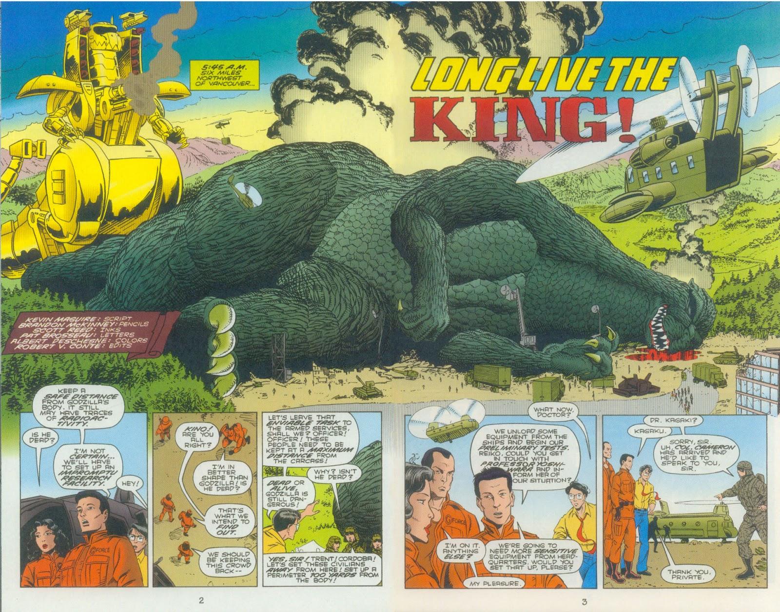 Godzilla (1995) Issue #3 #4 - English 5