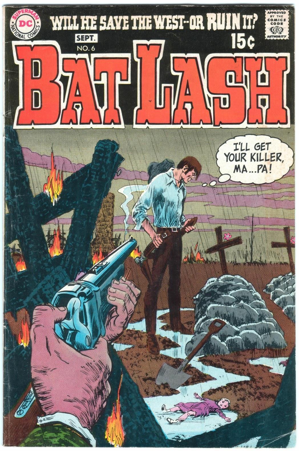 Bat Lash (1968) 6 Page 1