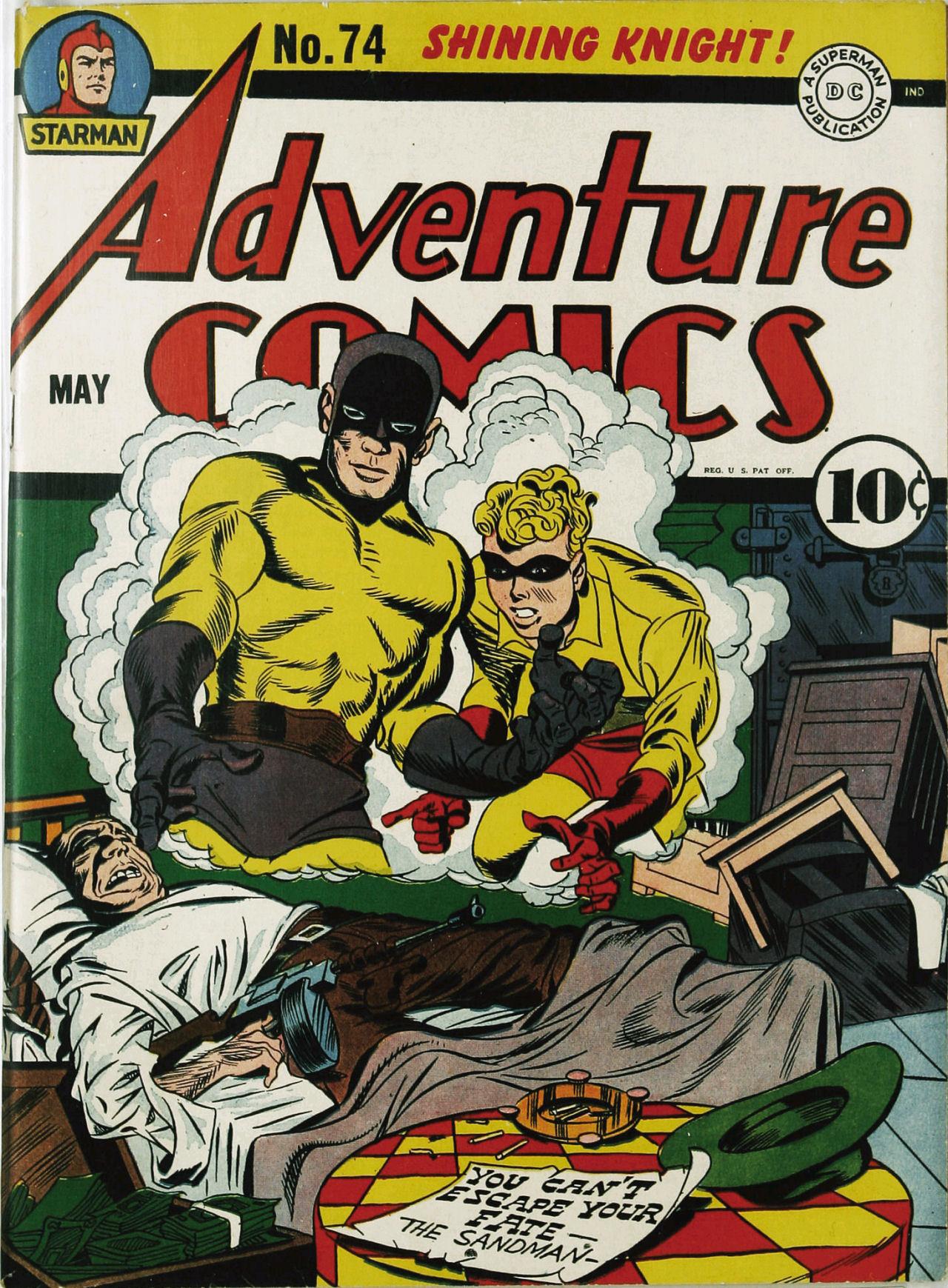 Read online Adventure Comics (1938) comic -  Issue #74 - 1
