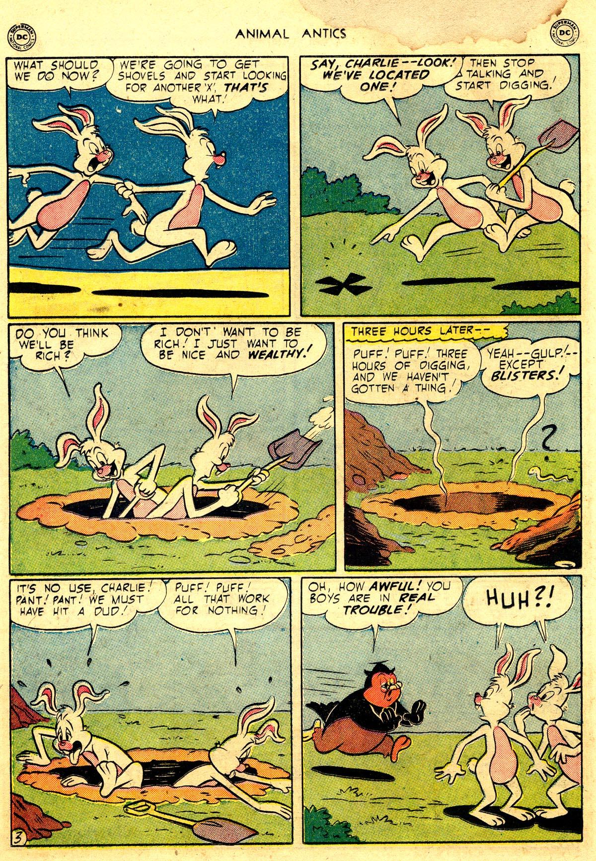 Read online Animal Antics comic -  Issue #26 - 36