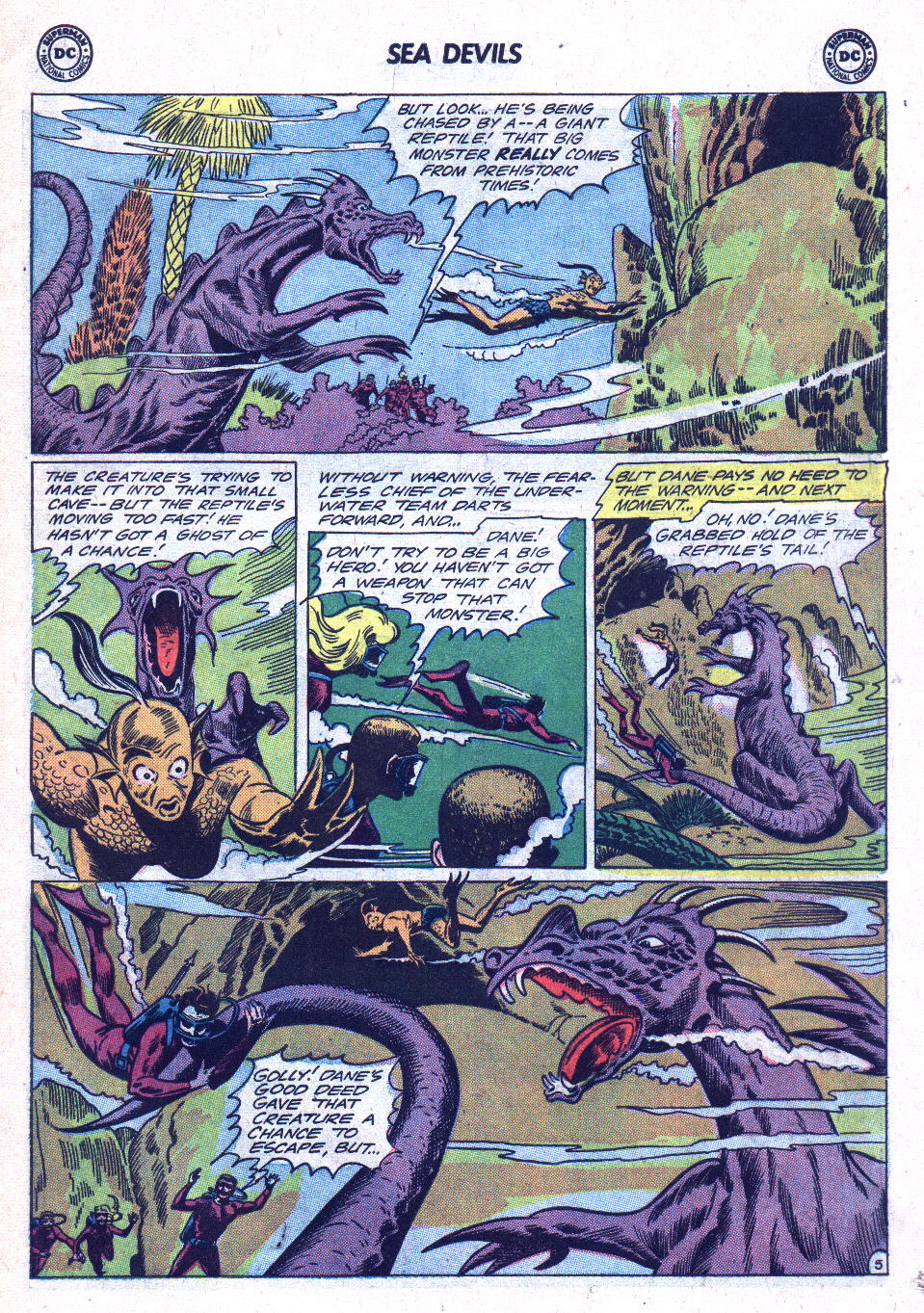 Read online Sea Devils comic -  Issue #18 - 7
