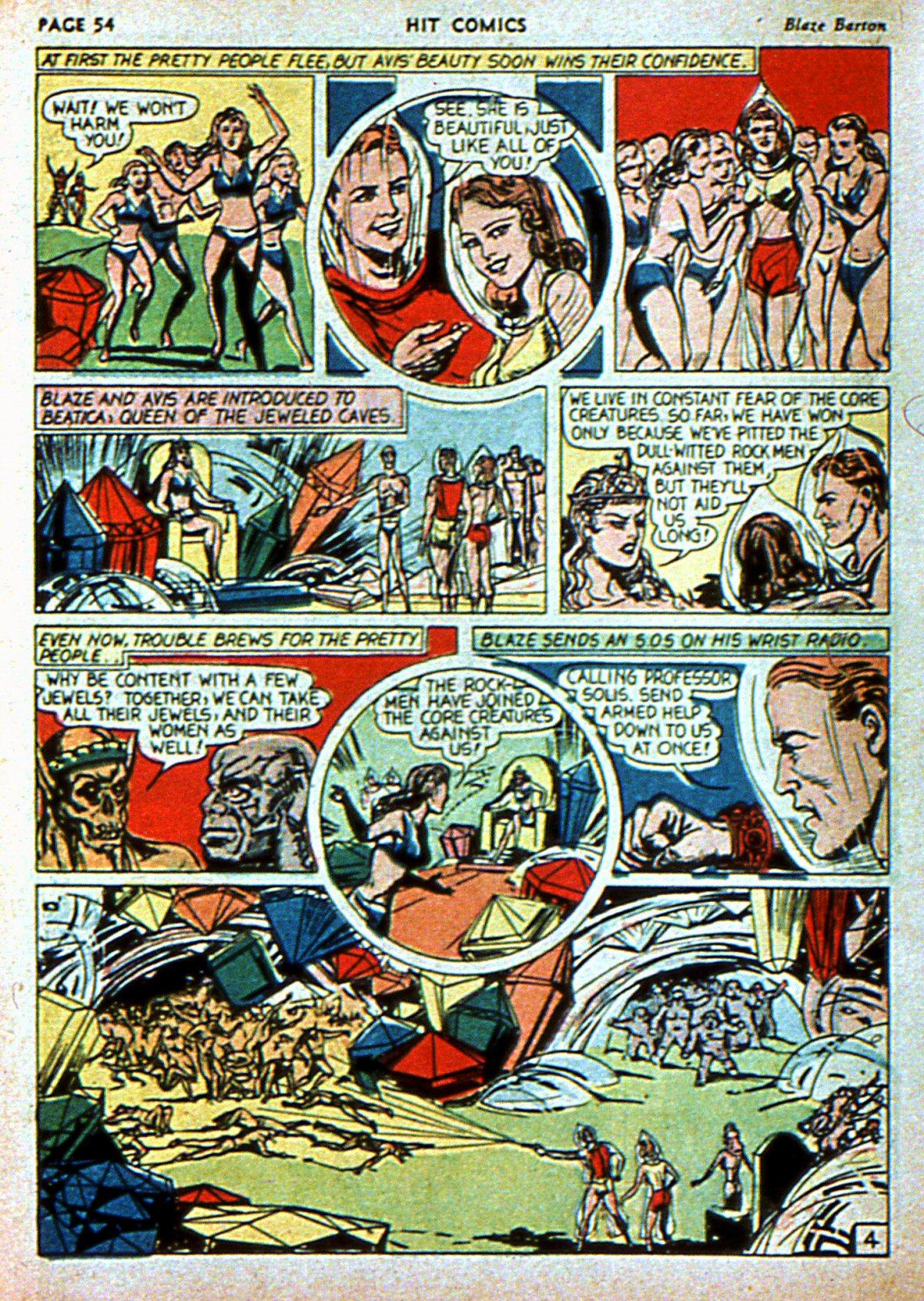 Read online Hit Comics comic -  Issue #3 - 56