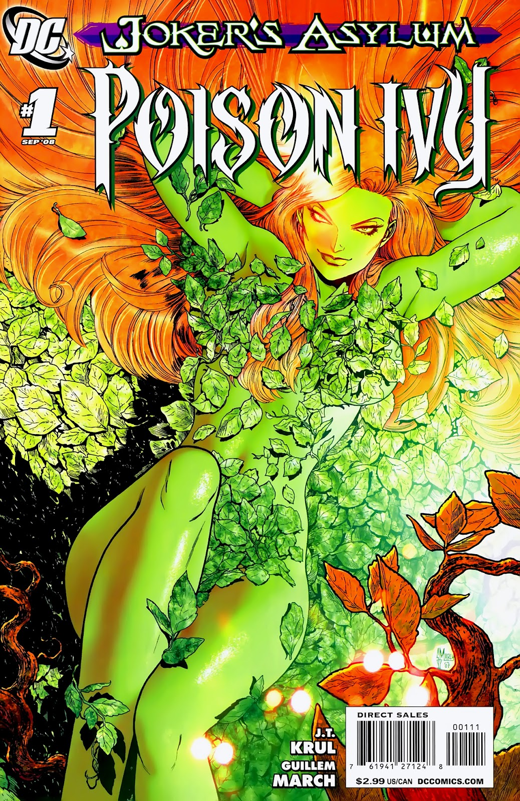 Joker's Asylum: Poison Ivy issue Full - Page 1
