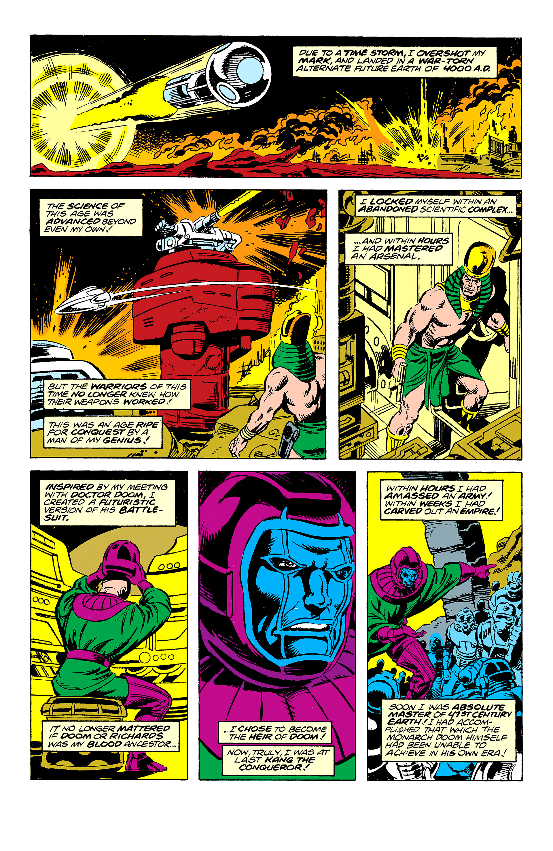 Read online Captain America (1968) comic -  Issue # _Annual 11 - 53