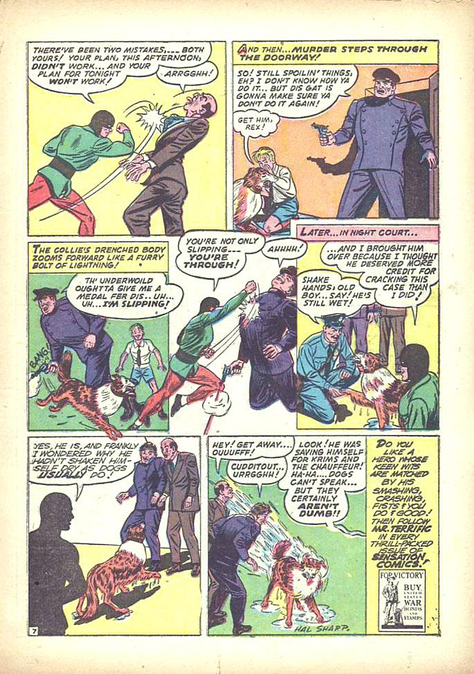 Read online Sensation (Mystery) Comics comic -  Issue #16 - 45