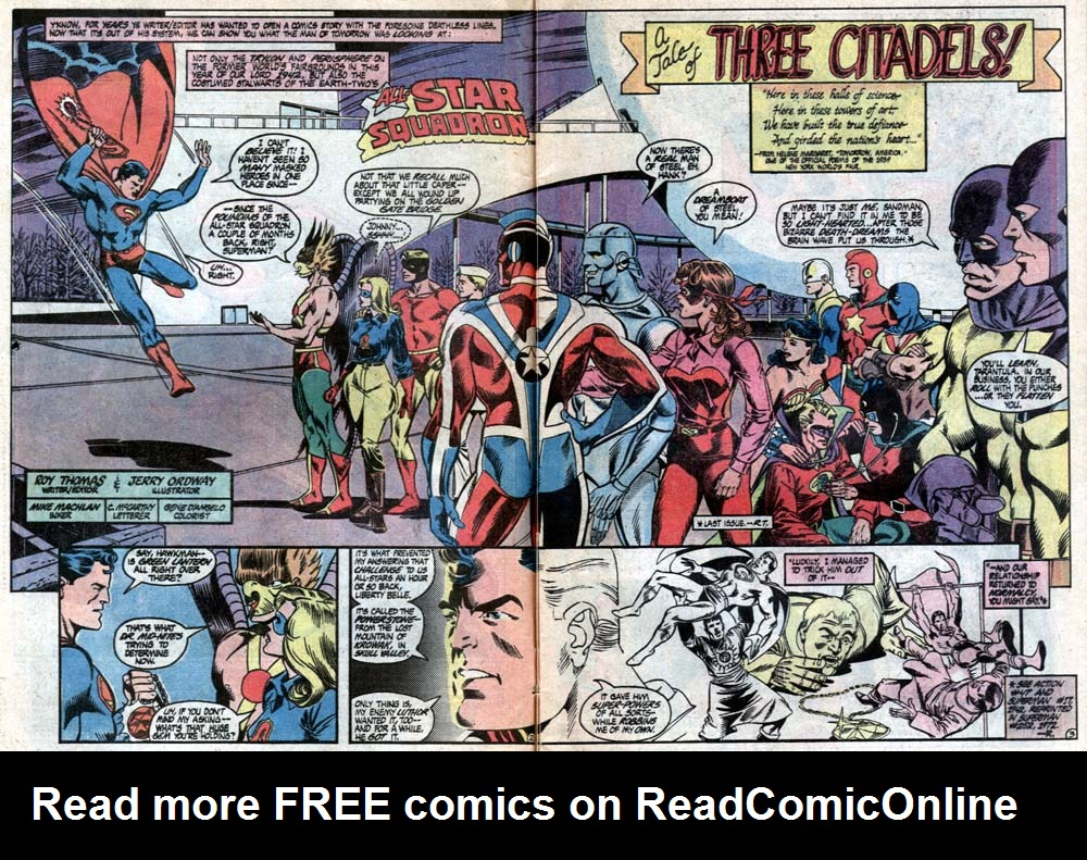 Read online All-Star Squadron comic -  Issue #21 - 4