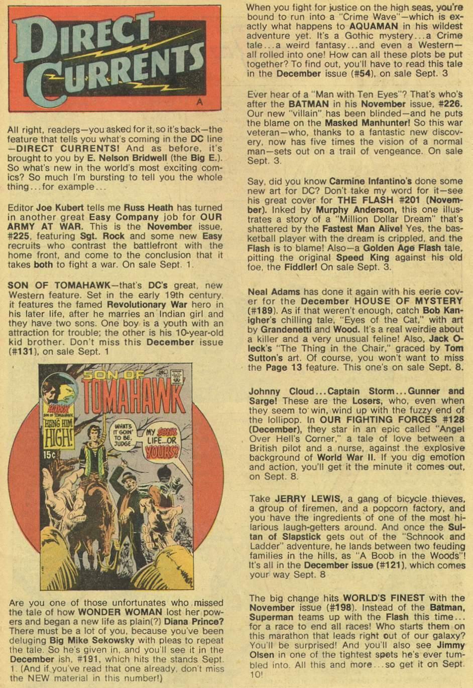 Read online Aquaman (1962) comic -  Issue #54 - 31