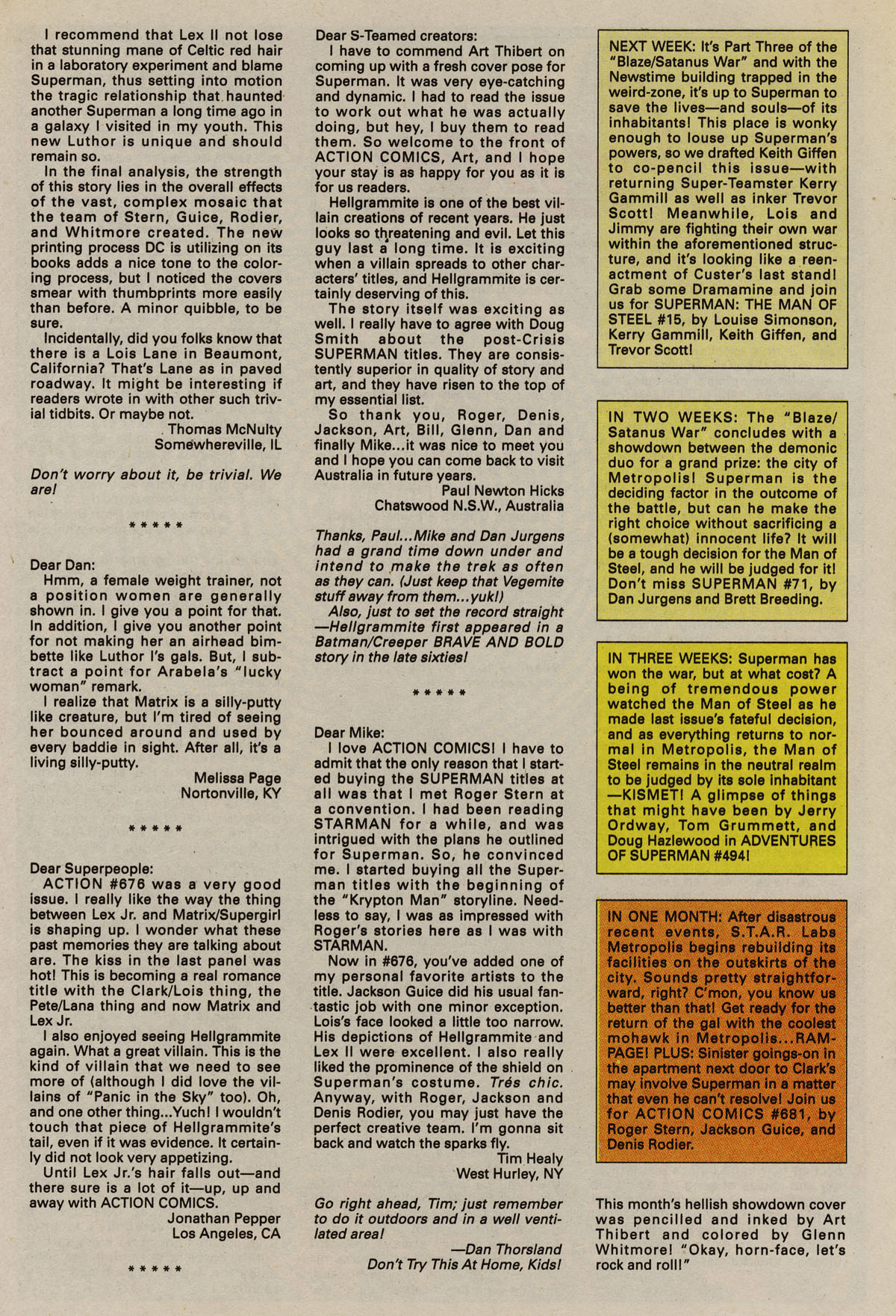 Read online Action Comics (1938) comic -  Issue #680 - 33