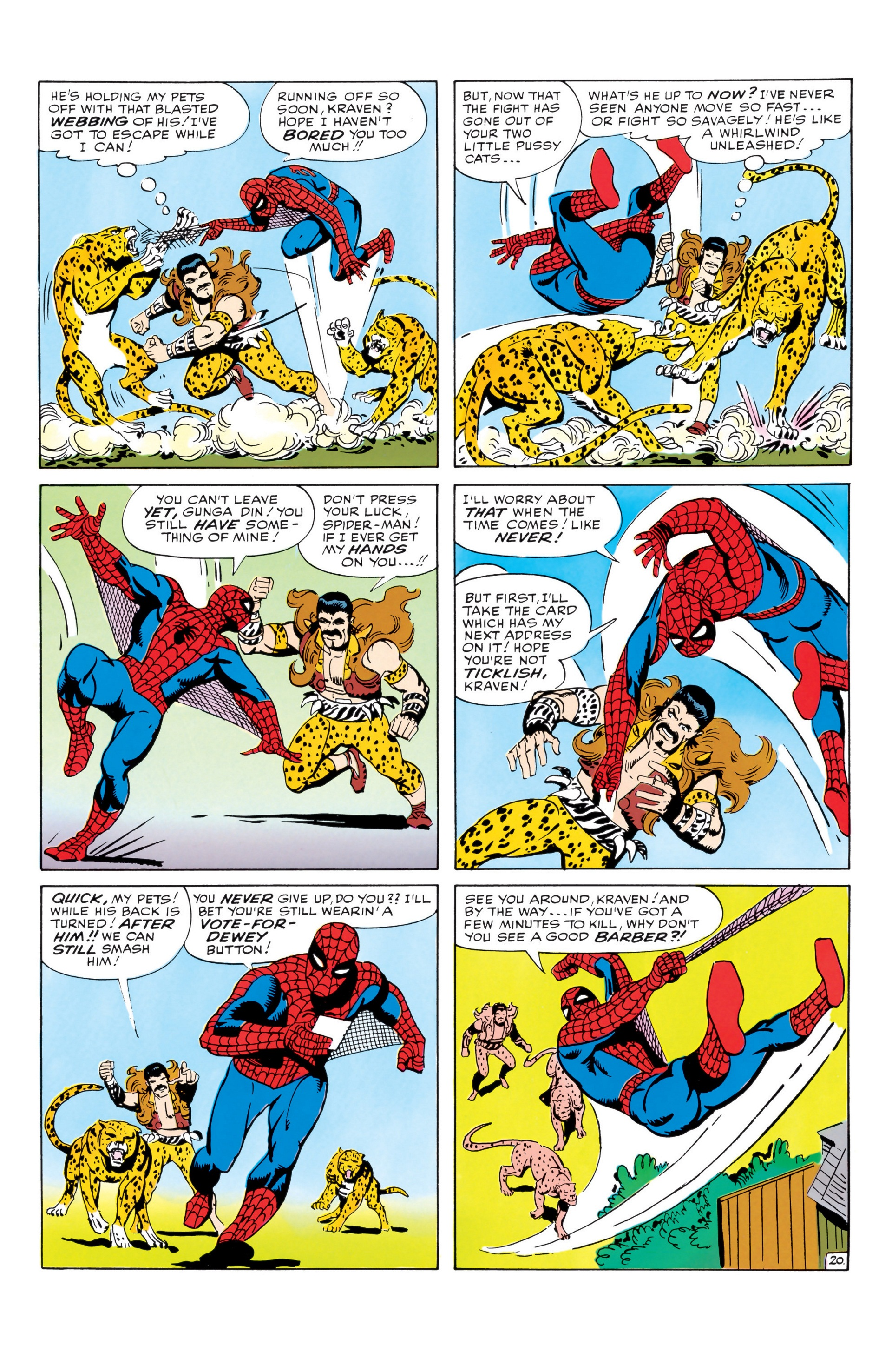The Amazing Spider-Man (1963) _Annual_1 Page 20