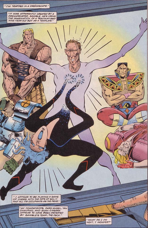 Read online Cyberspace 3000 comic -  Issue #8 - 2