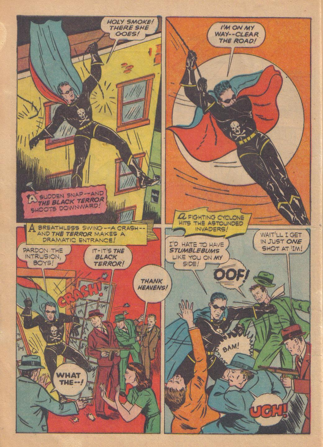 Exciting Comics (1940) issue 13 - Page 6