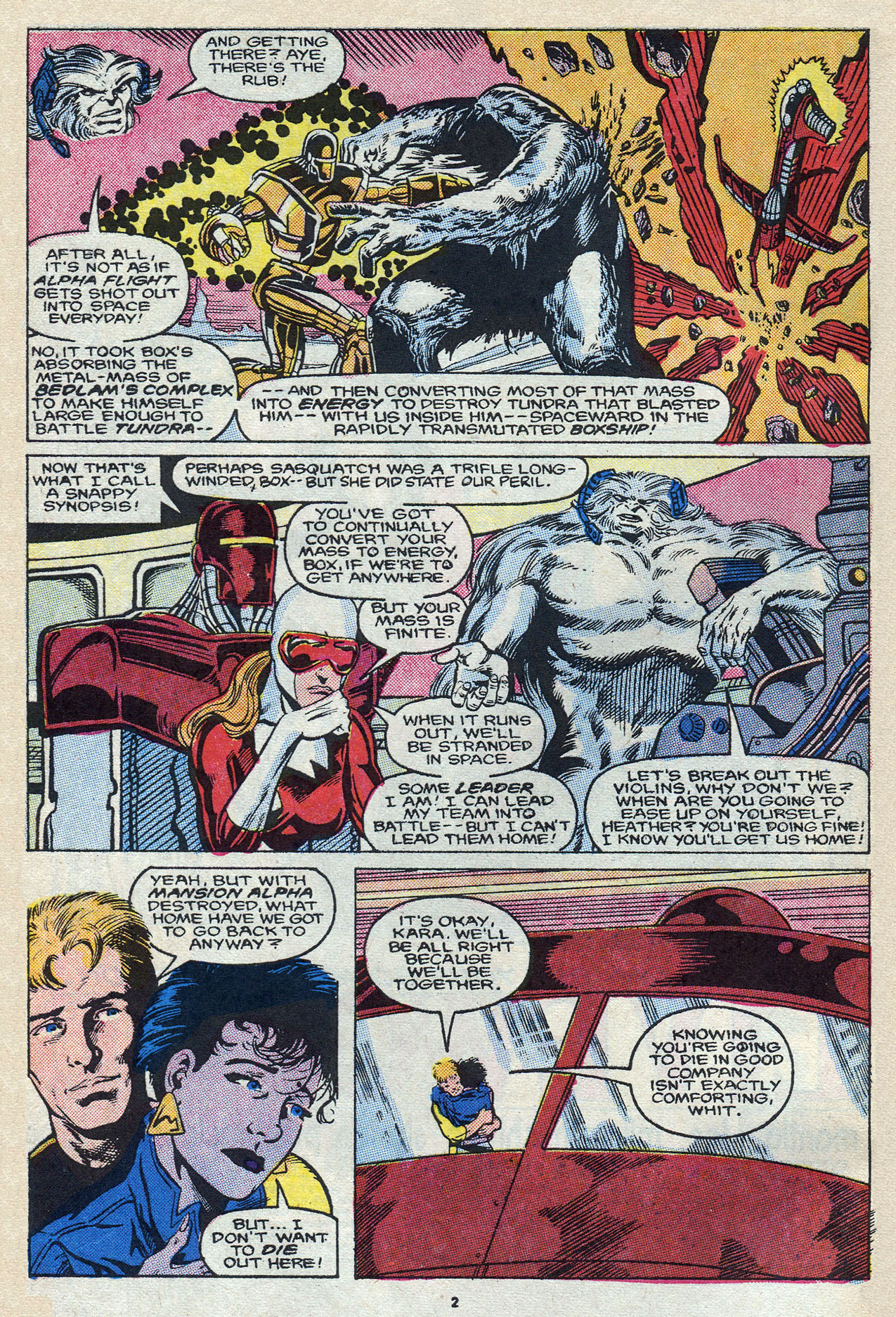Read online Alpha Flight (1983) comic -  Issue #58 - 4