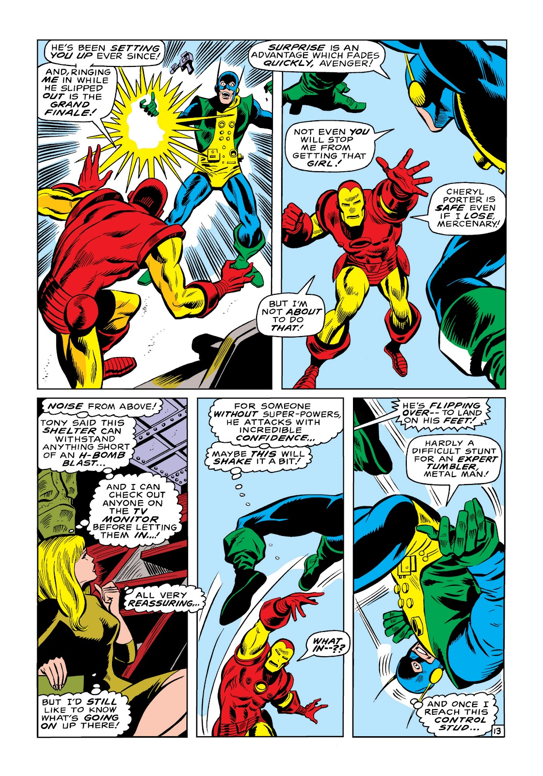 Read online Marvel Masterworks: The Invincible Iron Man comic -  Issue # TPB 6 (Part 3) - 8
