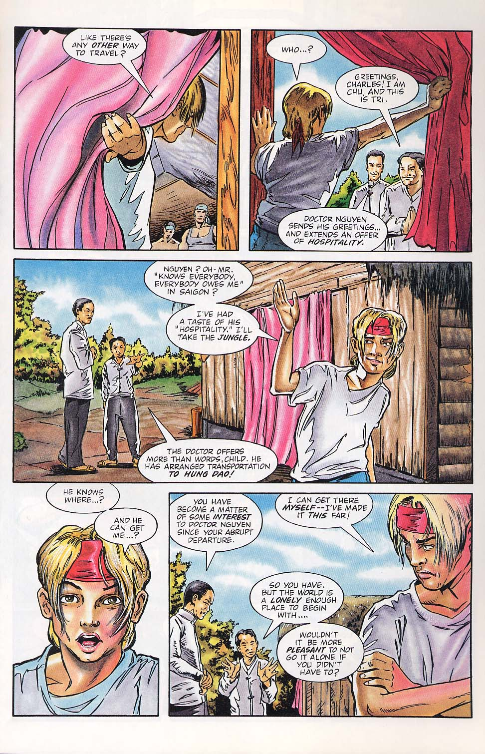 Read online Charlemagne comic -  Issue #1 - 18