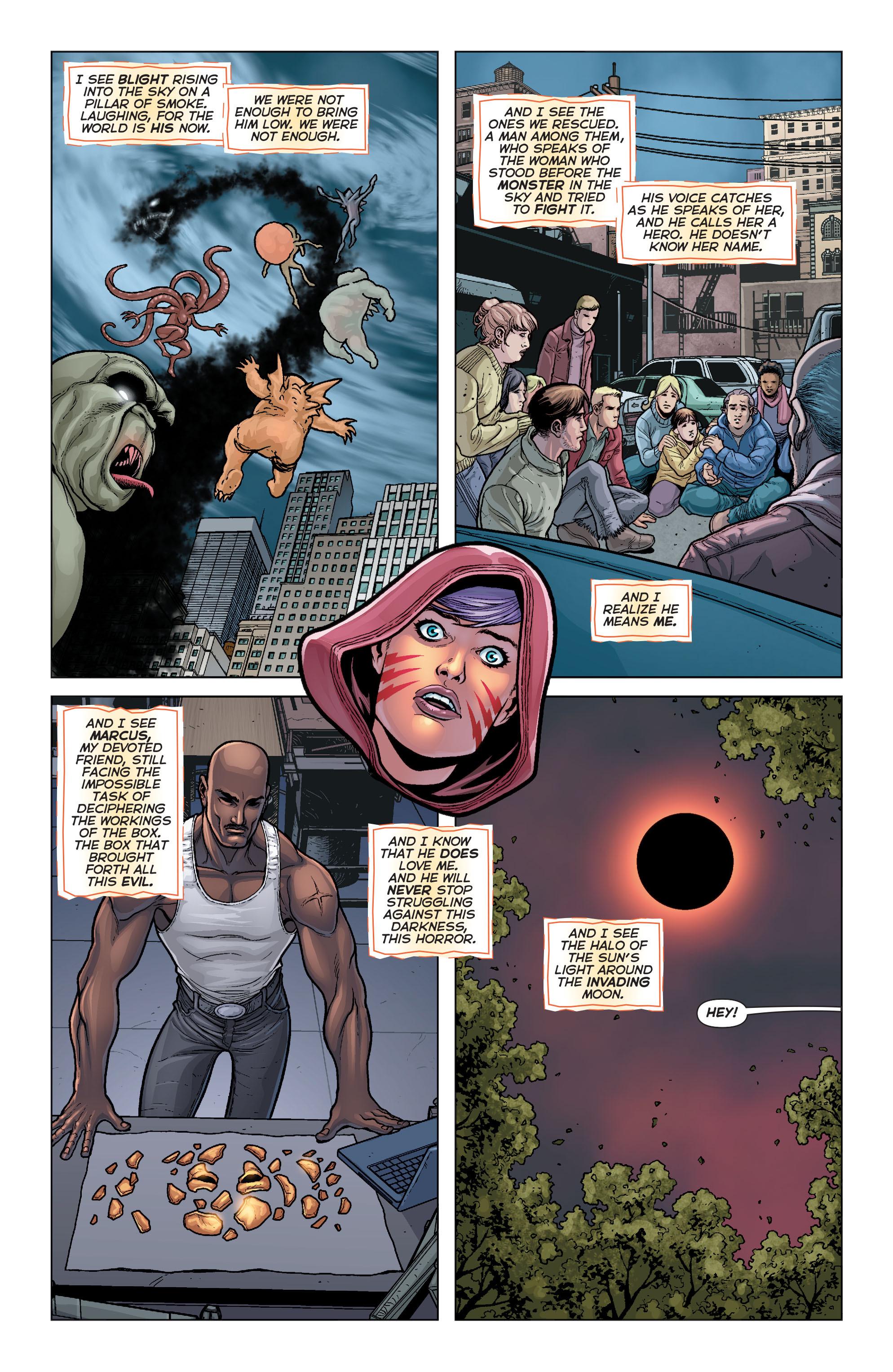 Read online Trinity of Sin: Pandora comic -  Issue #6 - 19