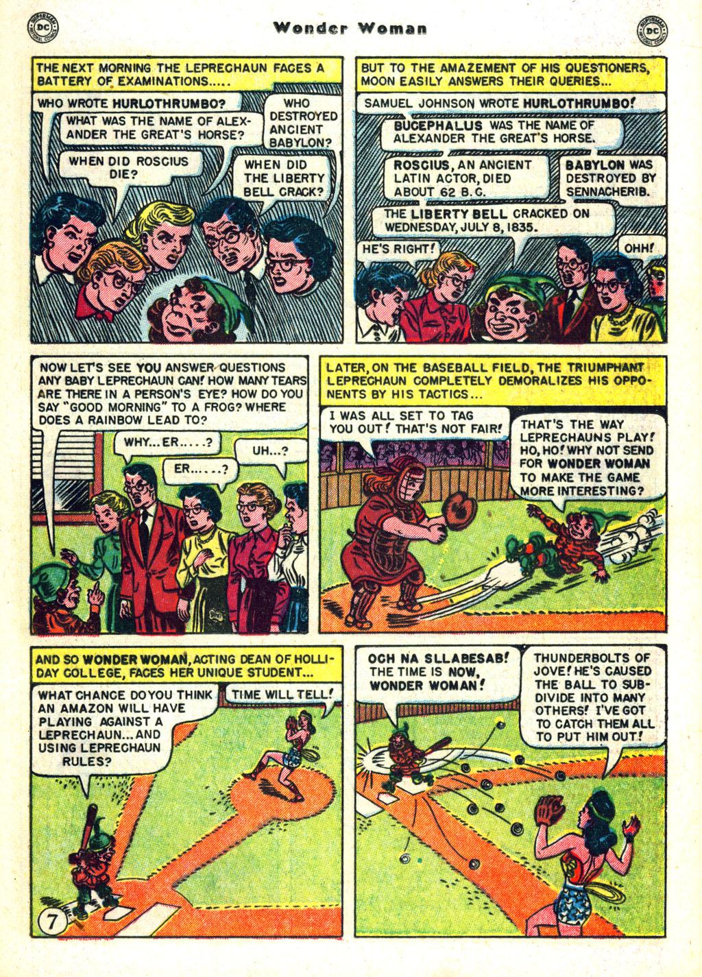 Read online Wonder Woman (1942) comic -  Issue #45 - 31