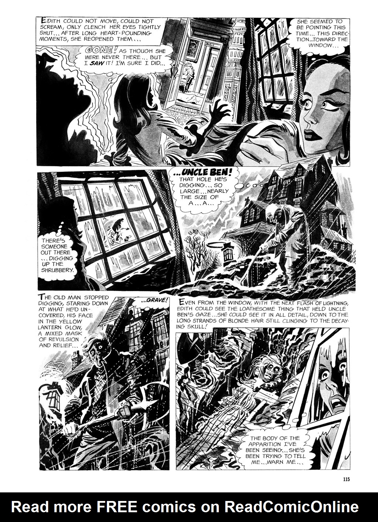 Read online Eerie Archives comic -  Issue # TPB 2 - 116
