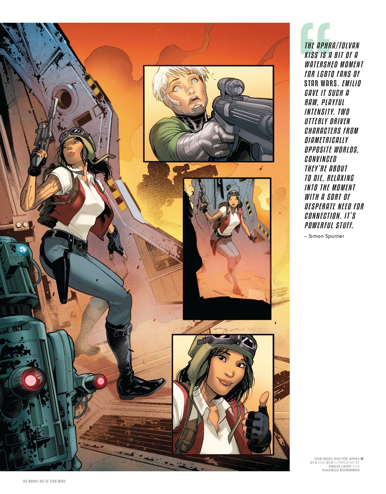 Read online The Marvel Art of Star Wars comic -  Issue # TPB (Part 2) - 78