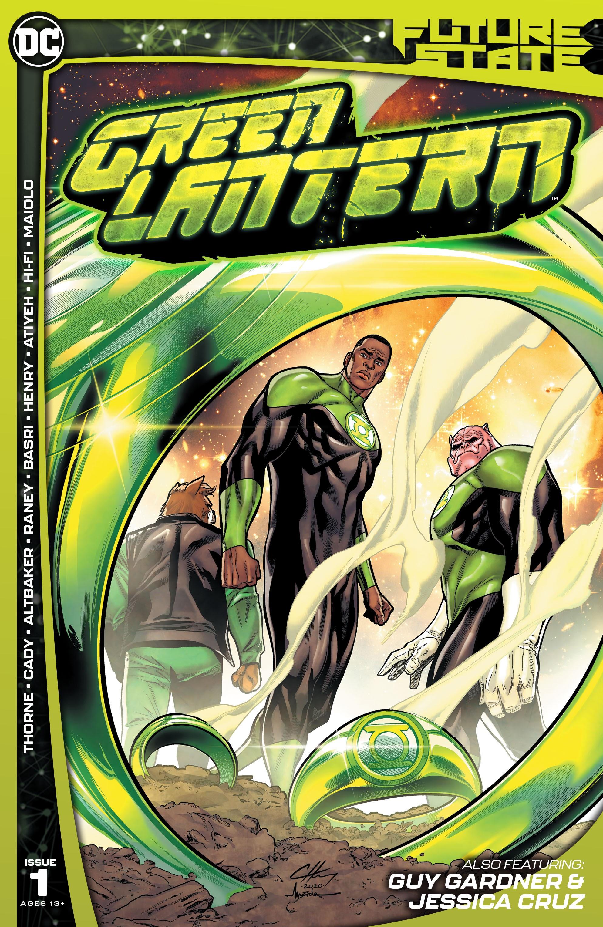 Future State: Green Lantern 1 Page 1