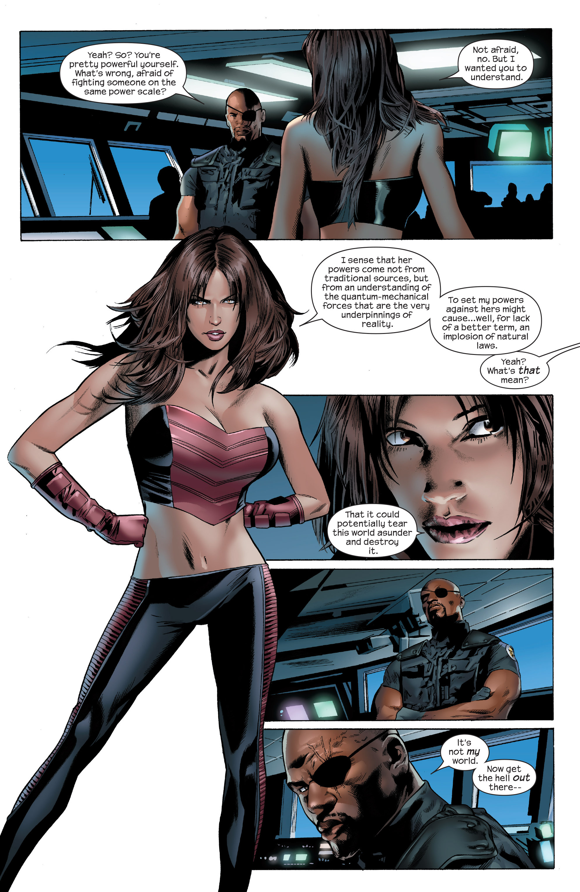 Read online Ultimate Power comic -  Issue #6 - 11
