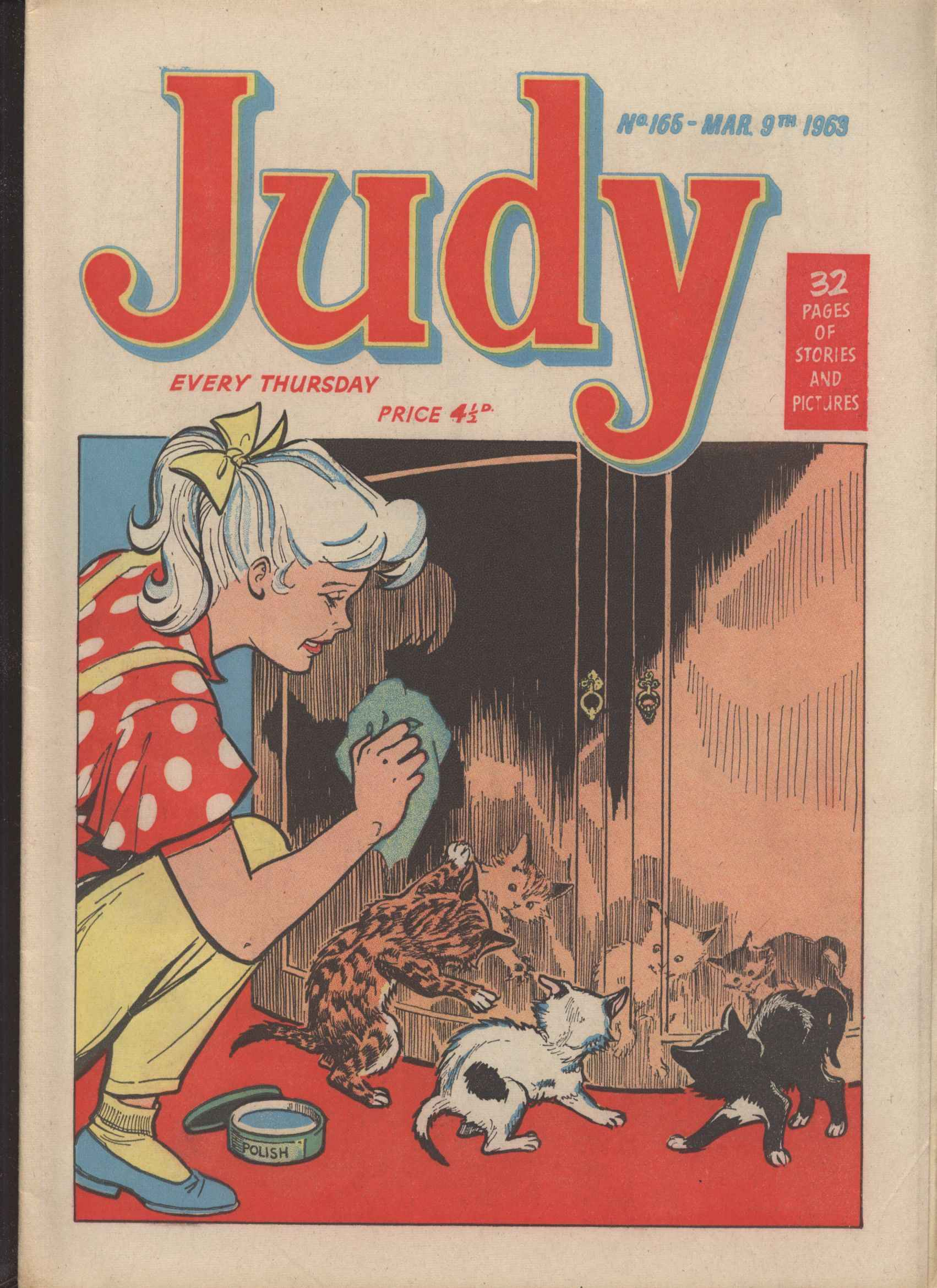 Read online Judy comic -  Issue #165 - 1