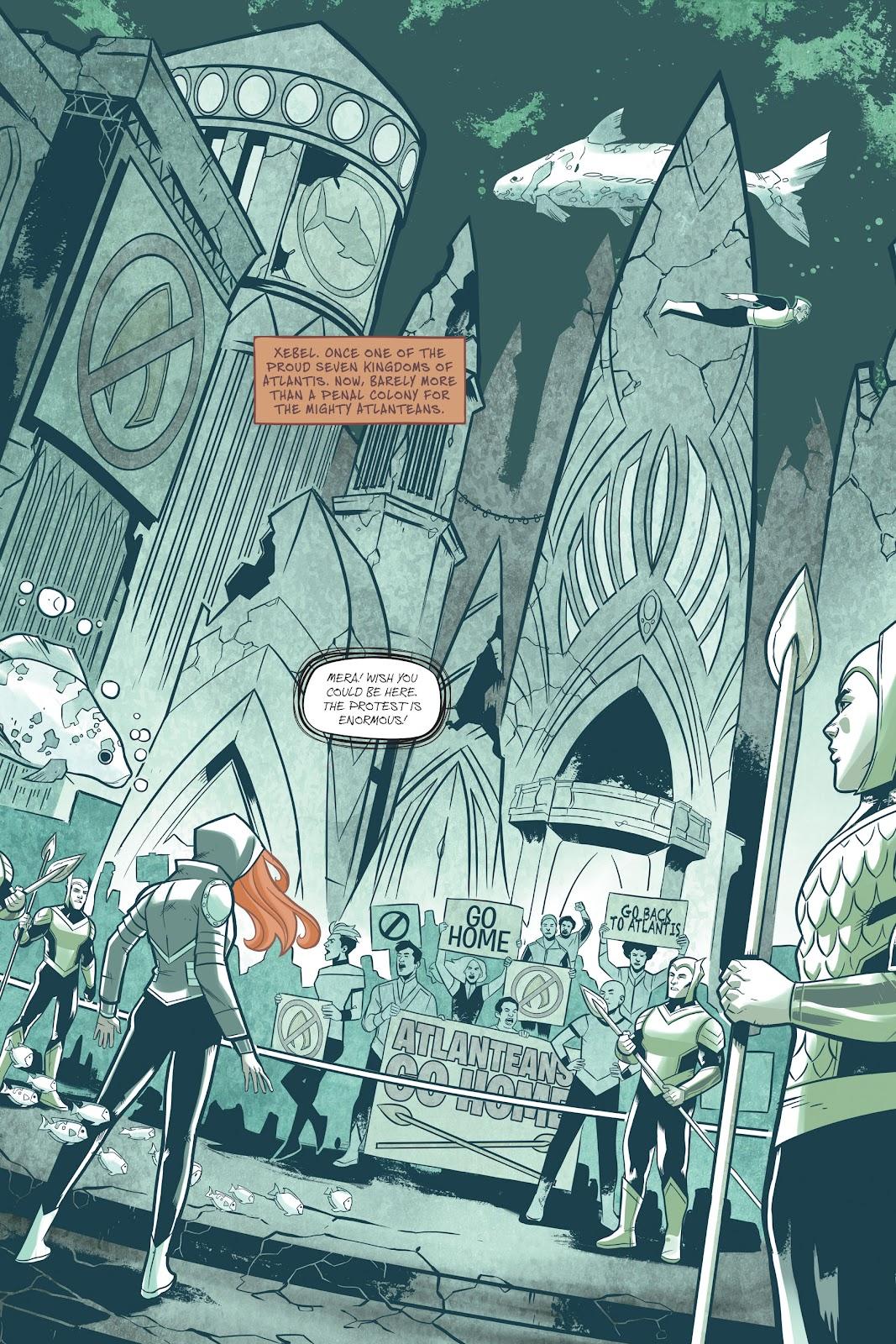 Read online Mera: Tidebreaker comic -  Issue # TPB (Part 1) - 9