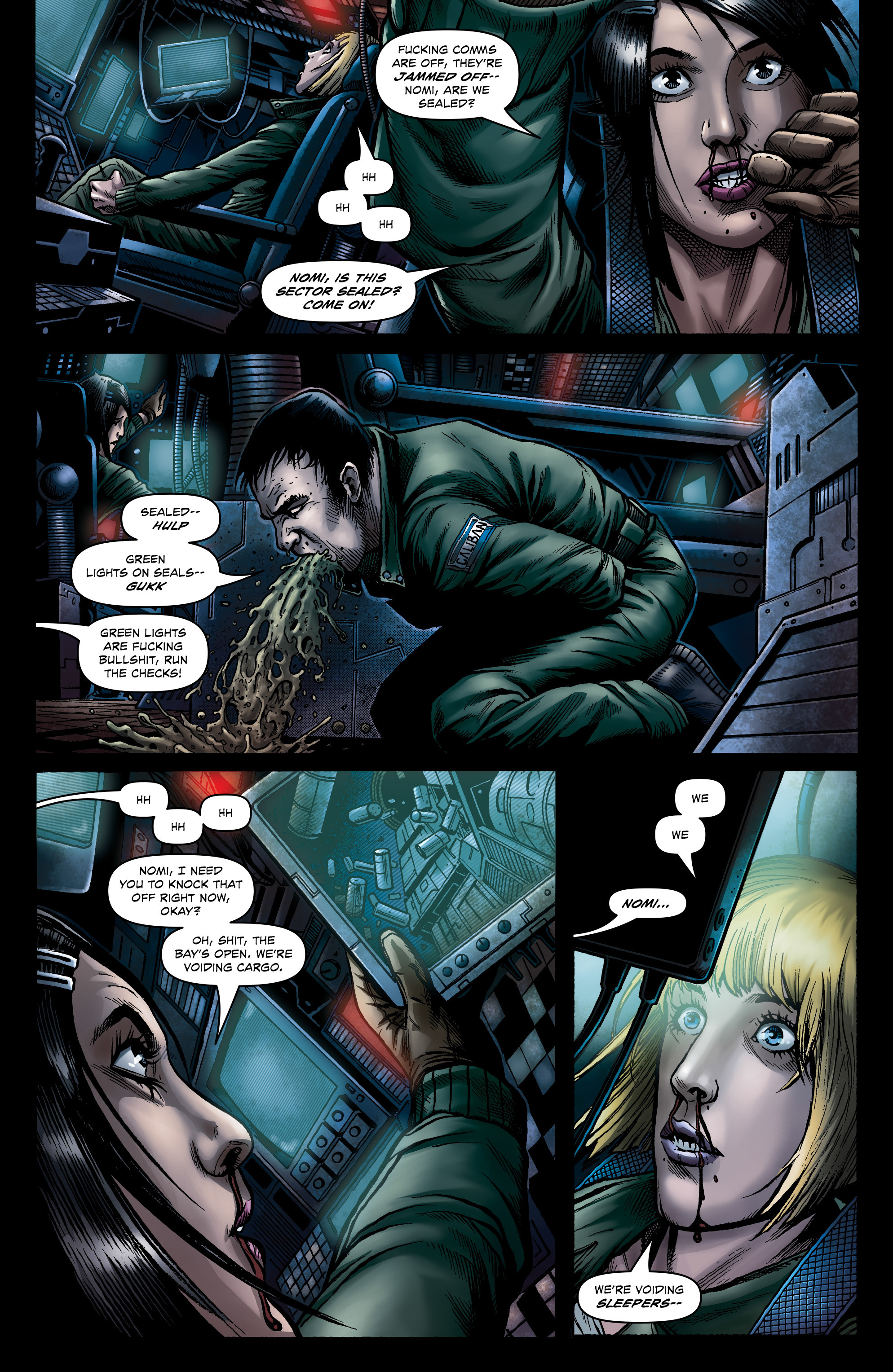Read online Caliban comic -  Issue #1 - 18