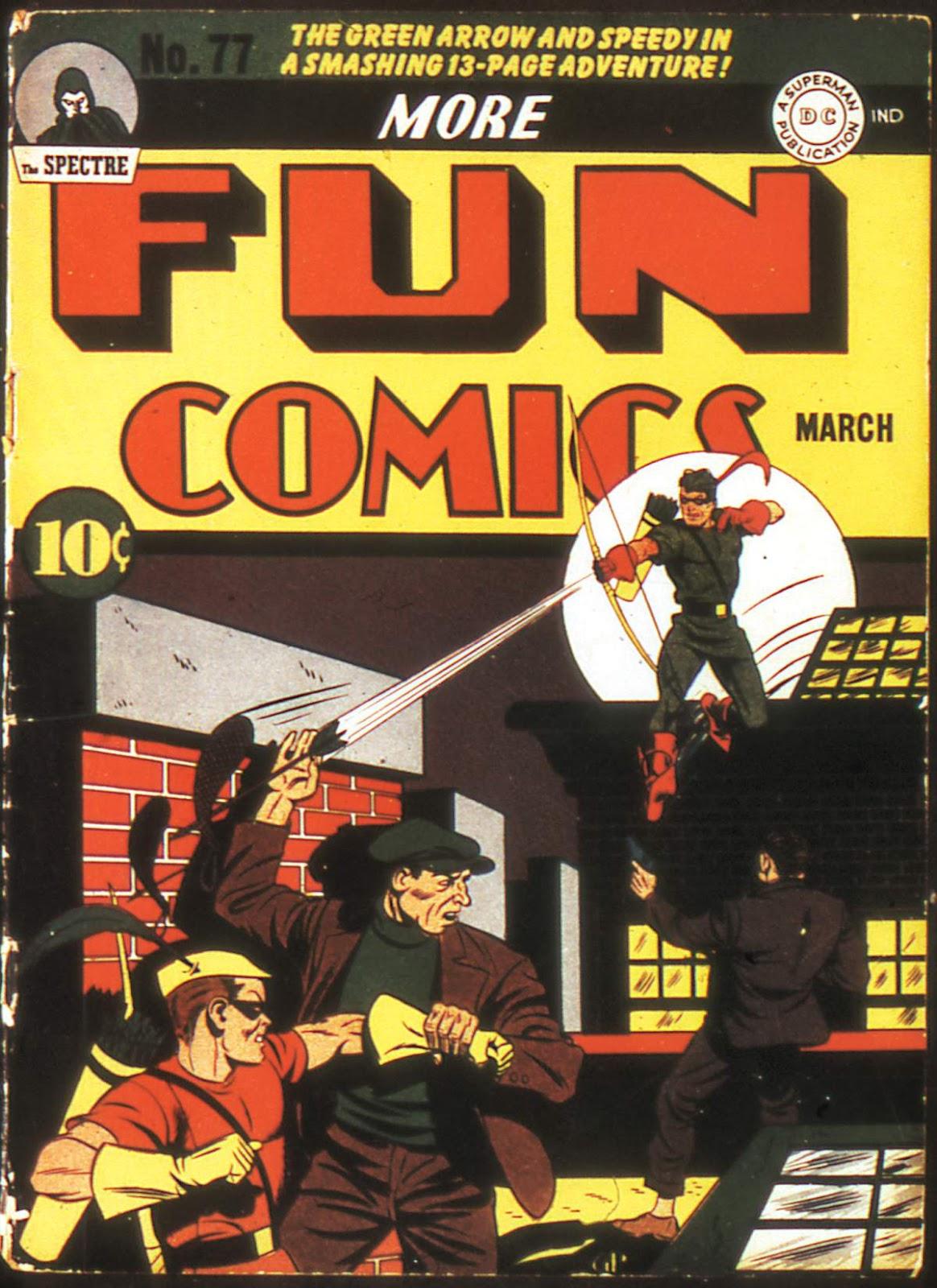 More Fun Comics 77 Page 1