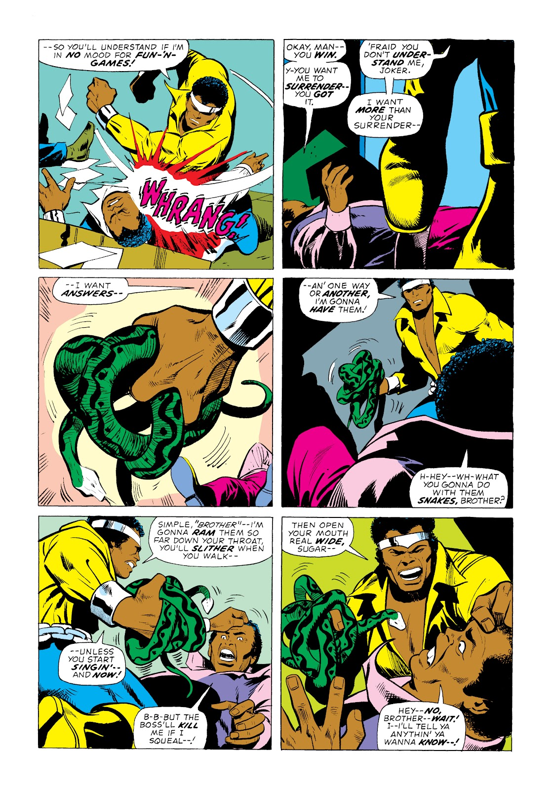 Read online Marvel Masterworks: Luke Cage, Power Man comic -  Issue # TPB 2 (Part 1) - 55
