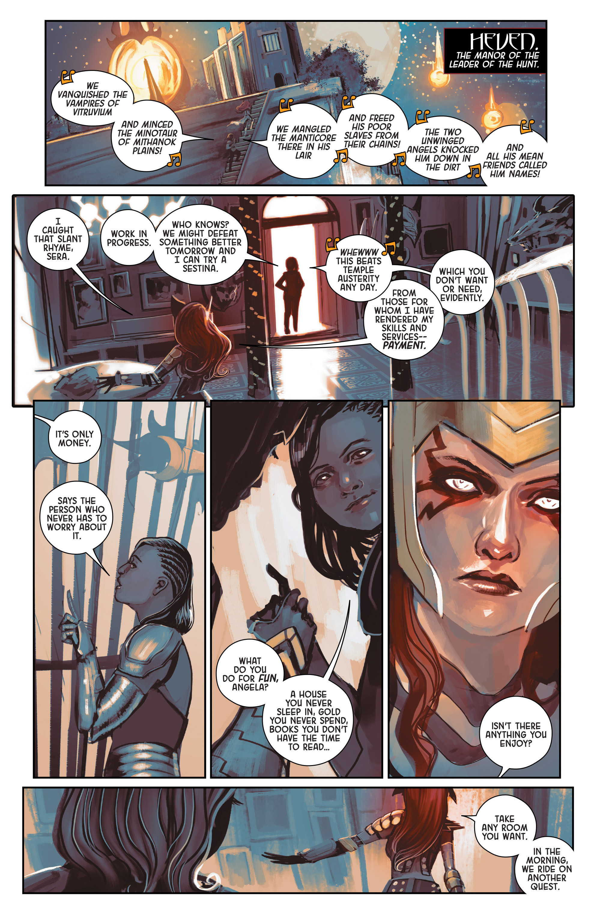 Read online Angela: Queen Of Hel comic -  Issue #1 - 8