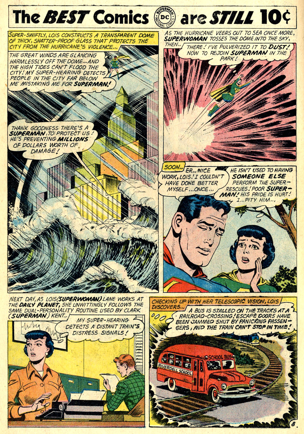 Read online Action Comics (1938) comic -  Issue #274 - 10