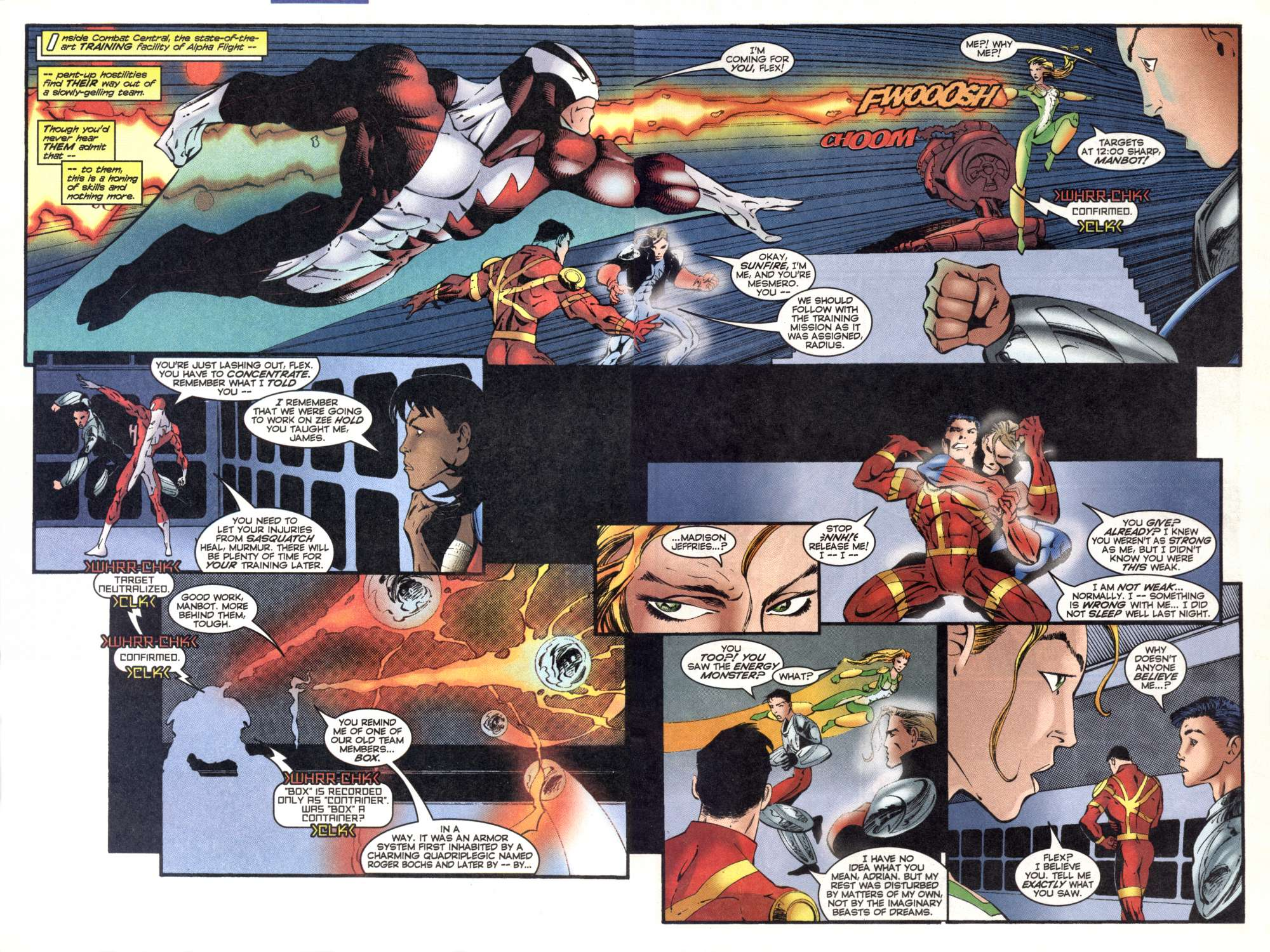 Read online Alpha Flight (1997) comic -  Issue #7 - 11