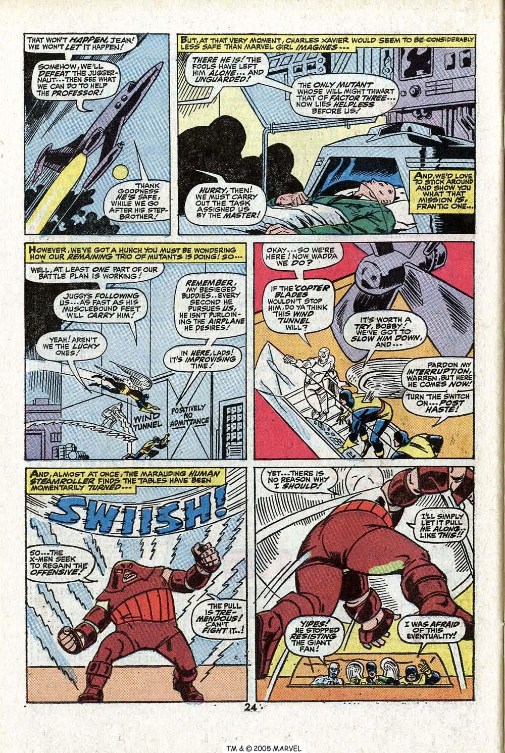 Read online Uncanny X-Men (1963) comic -  Issue #81 - 26