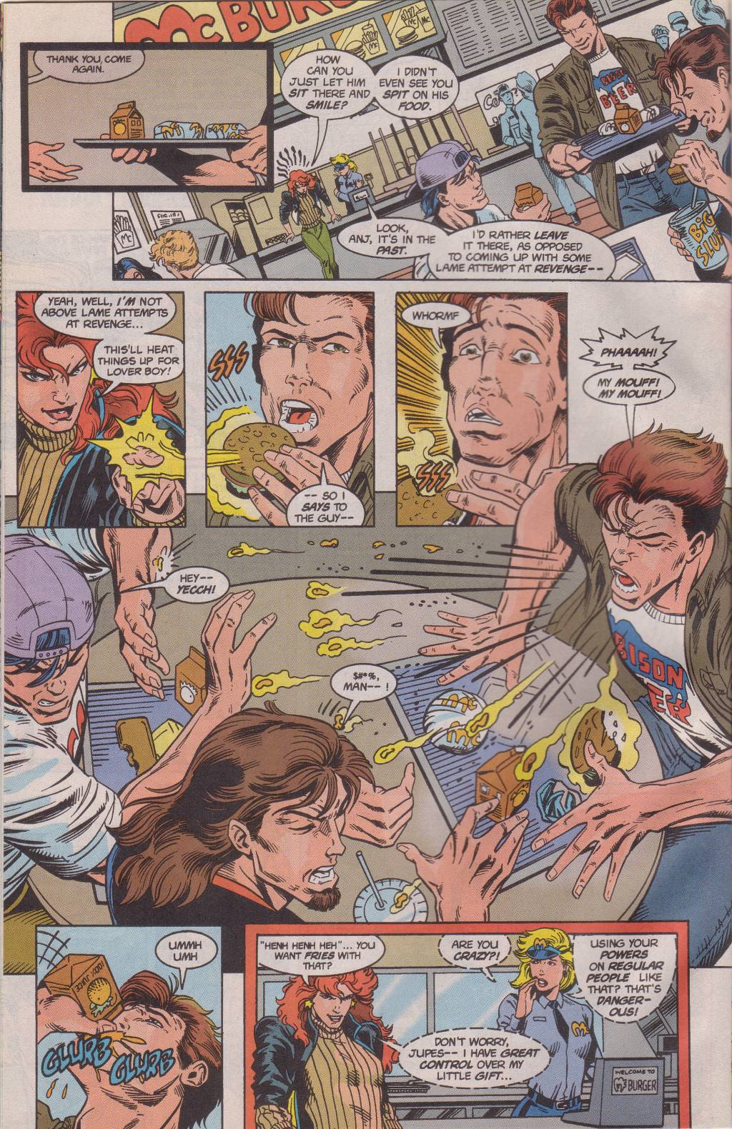 The New Warriors Issue #61 #65 - English 11