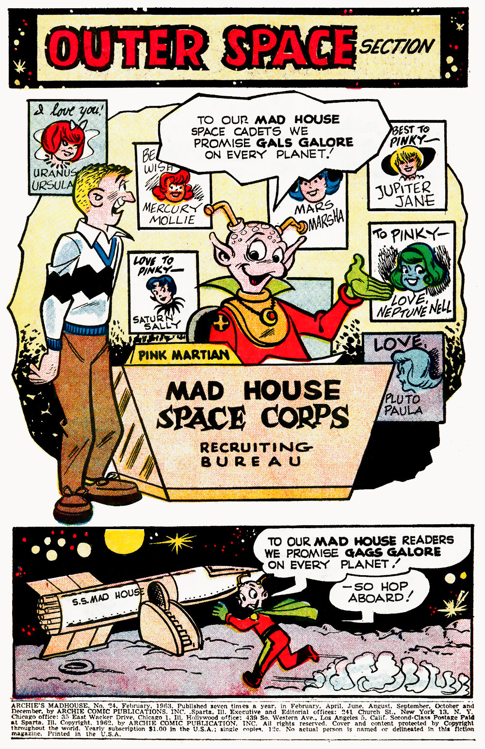 Archie's Madhouse issue 24 - Page 3