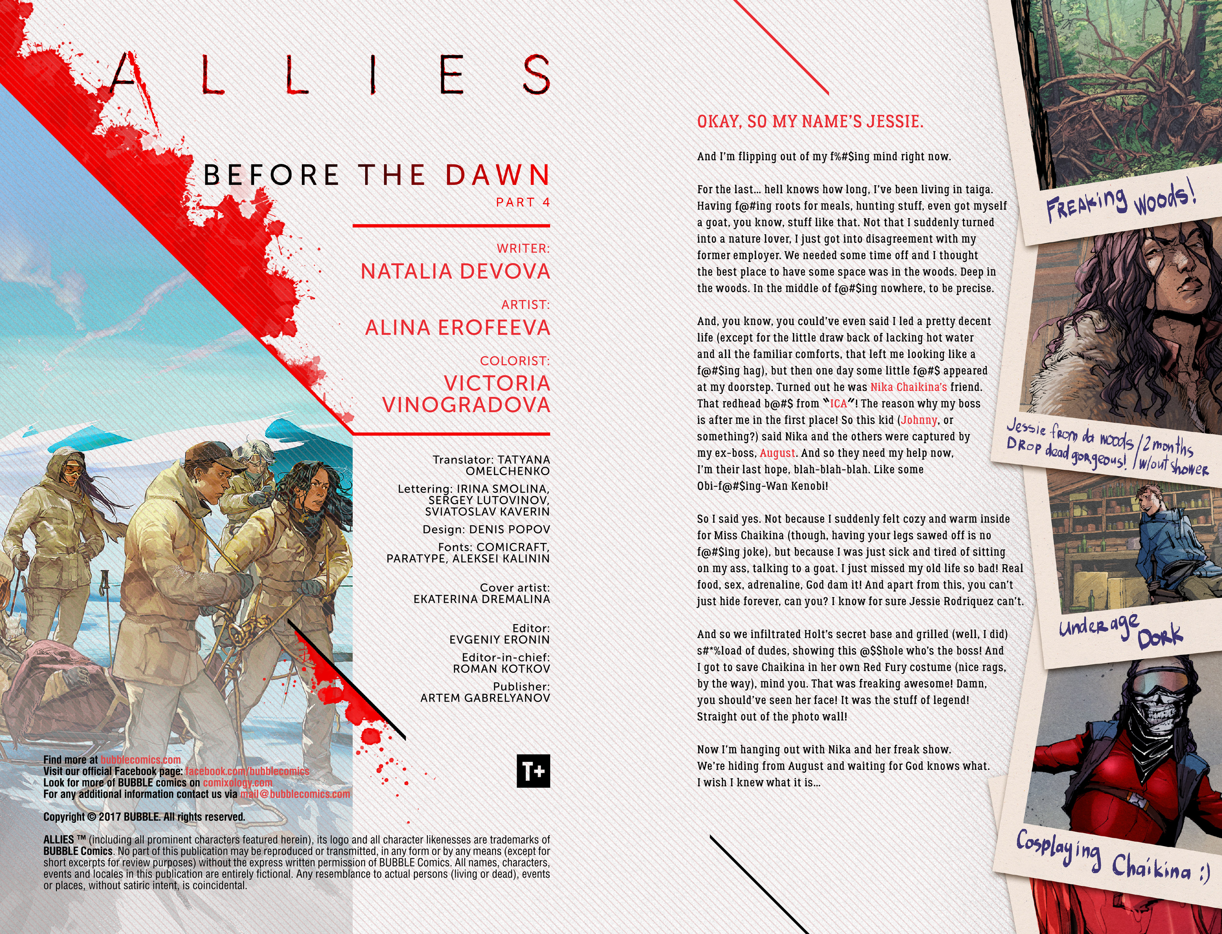 Read online Allies comic -  Issue #4 - 2